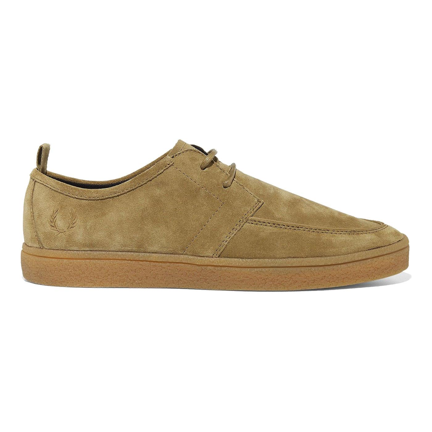 Shield FRED PERRY Retro Suede Crepe Sole Trainers