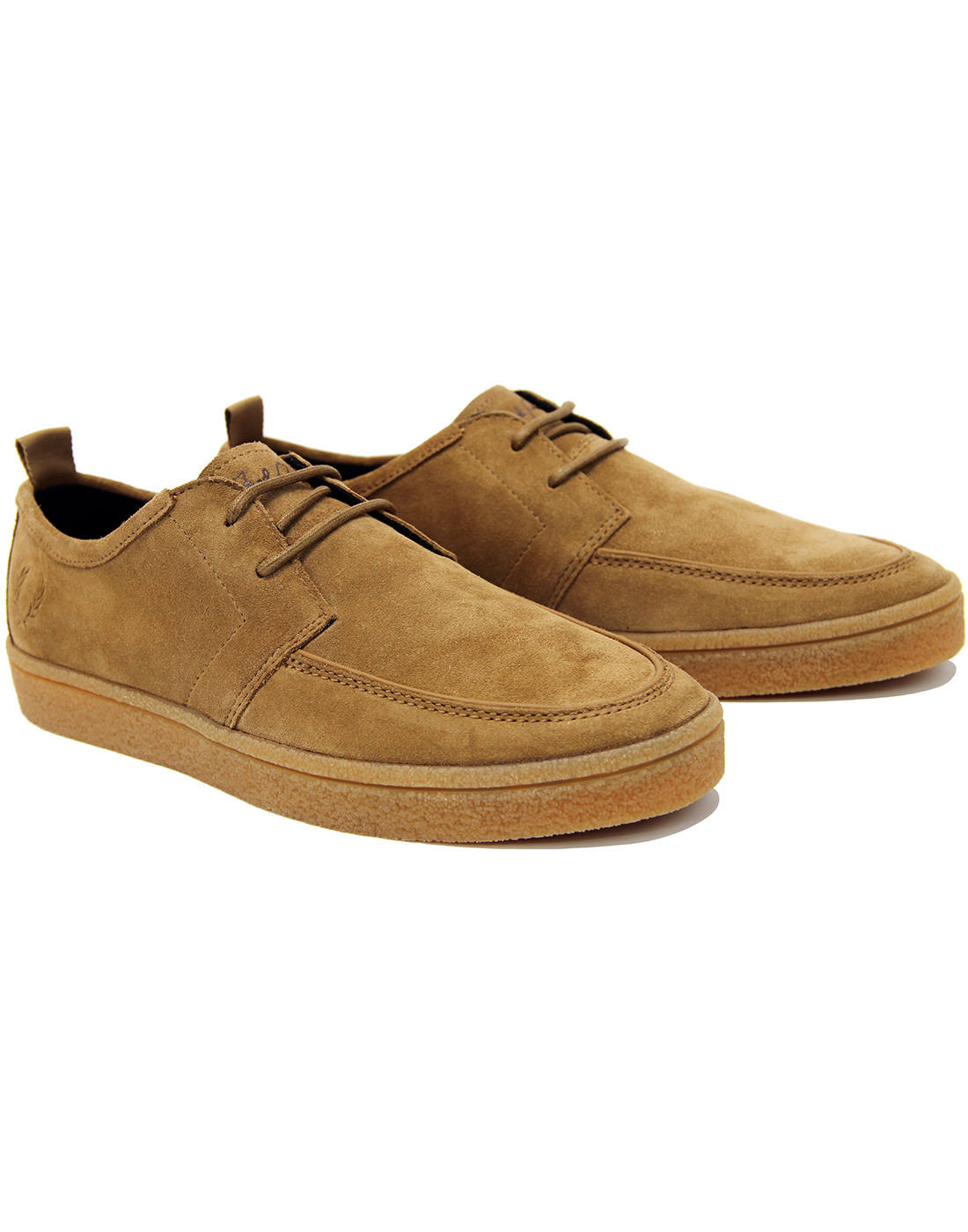 FRED PERRY 'Shield' Suede Crepe Sole