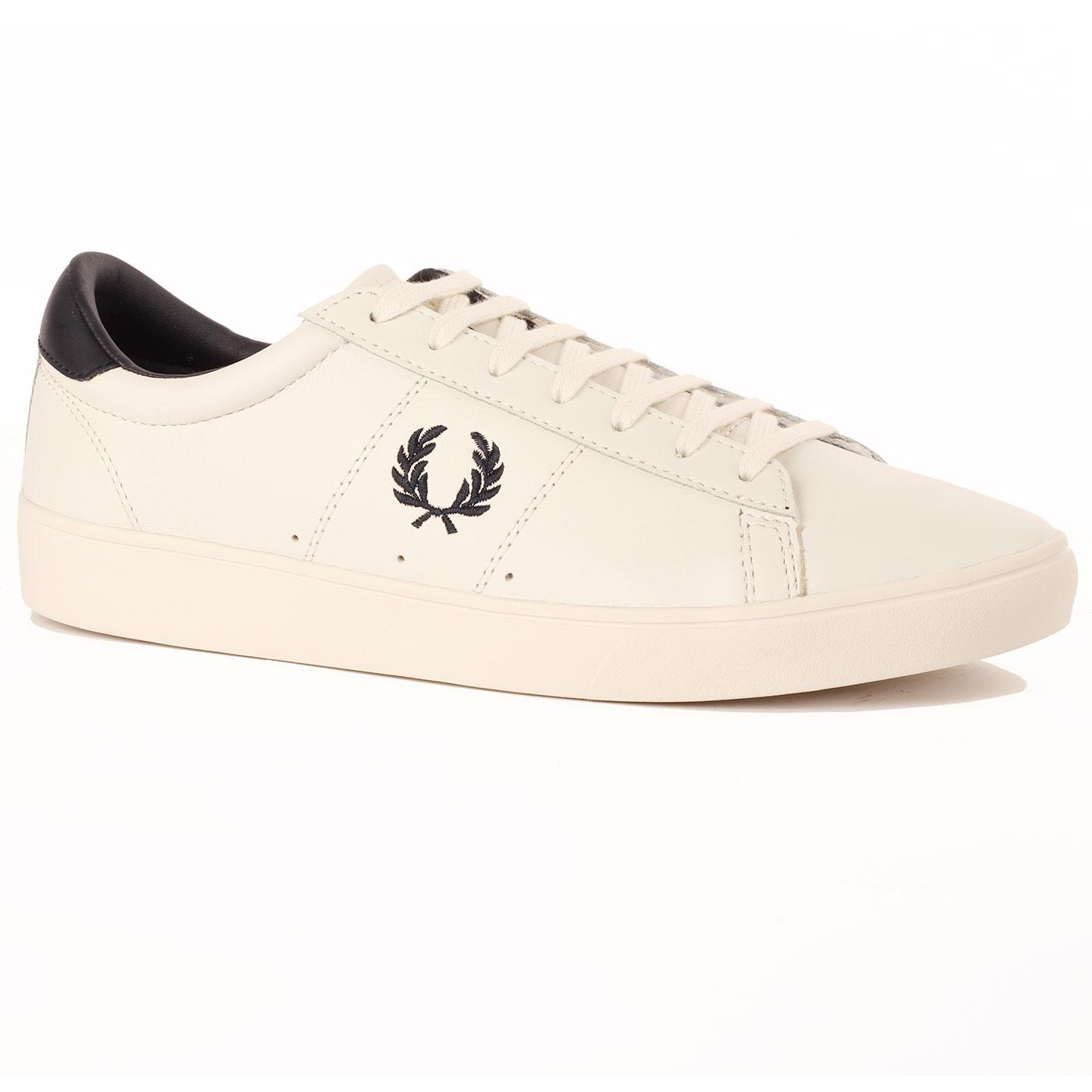 Spencer FRED PERRY Men's Retro Leather Trainers