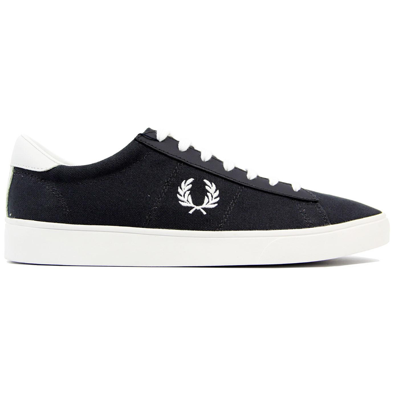 Spencer FRED PERRY Men's Retro Canvas Trainers C