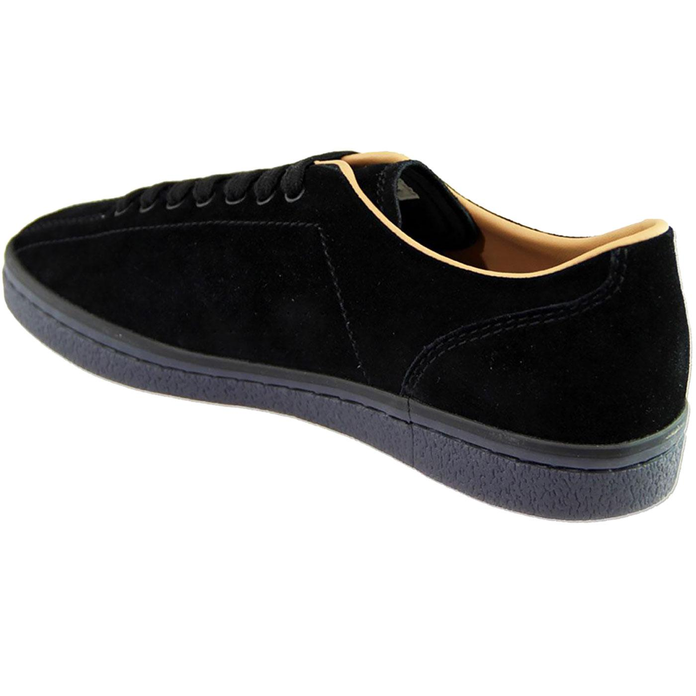 Stamford FRED PERRY Suede Bowling Shoes Trainers