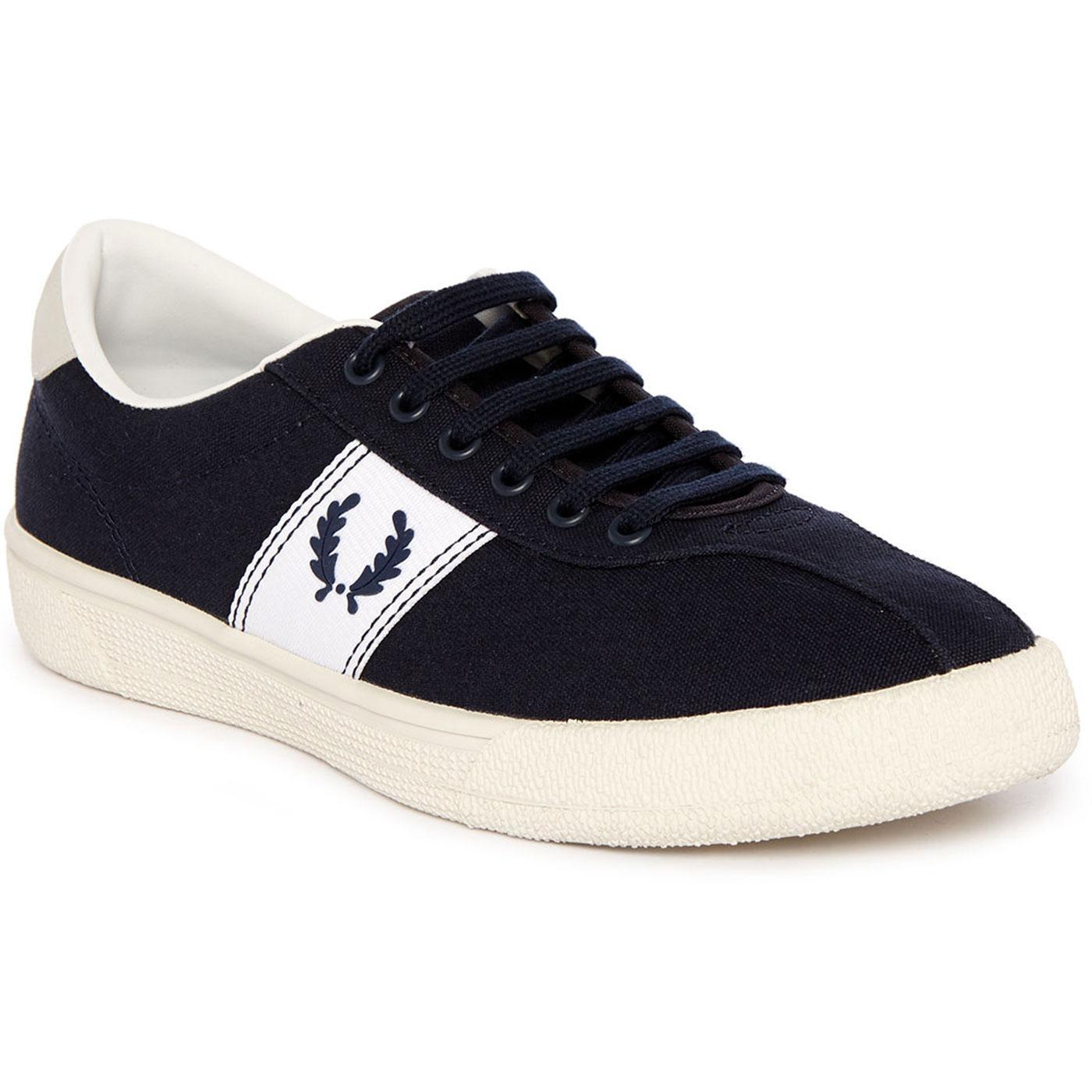 FRED PERRY Mens Retro 70s Authentic Tennis Shoes N