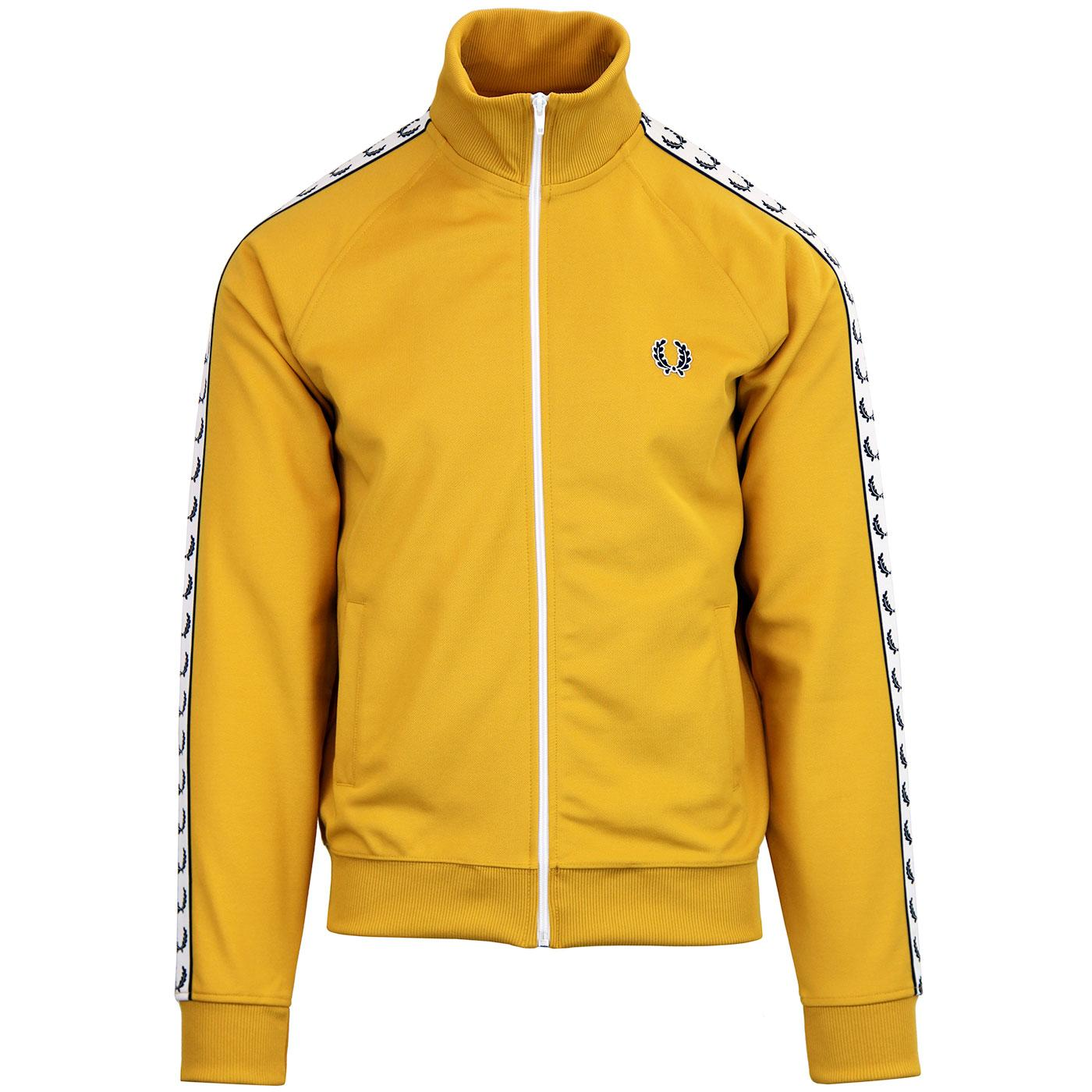 FRED PERRY Sports Tape Funnel Neck Track Jacket G