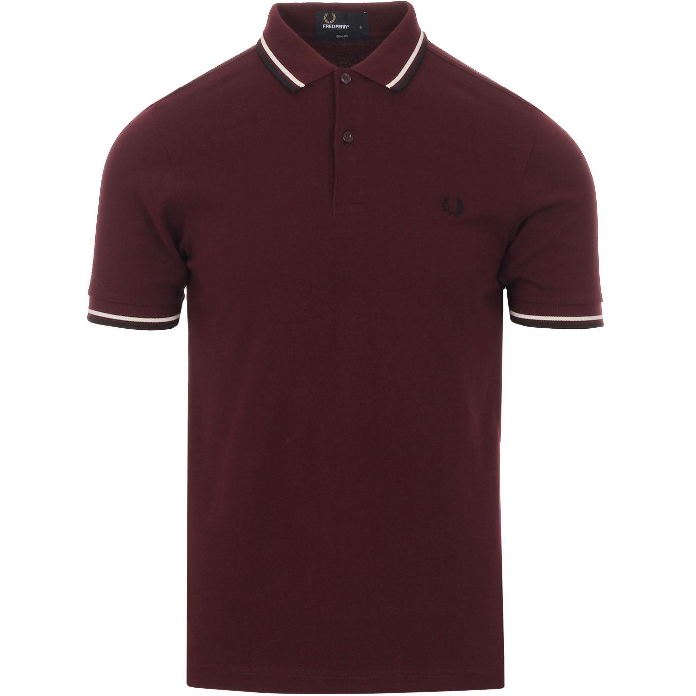 FRED PERRY M3600 Men's Mod Twin Tipped Polo Top M