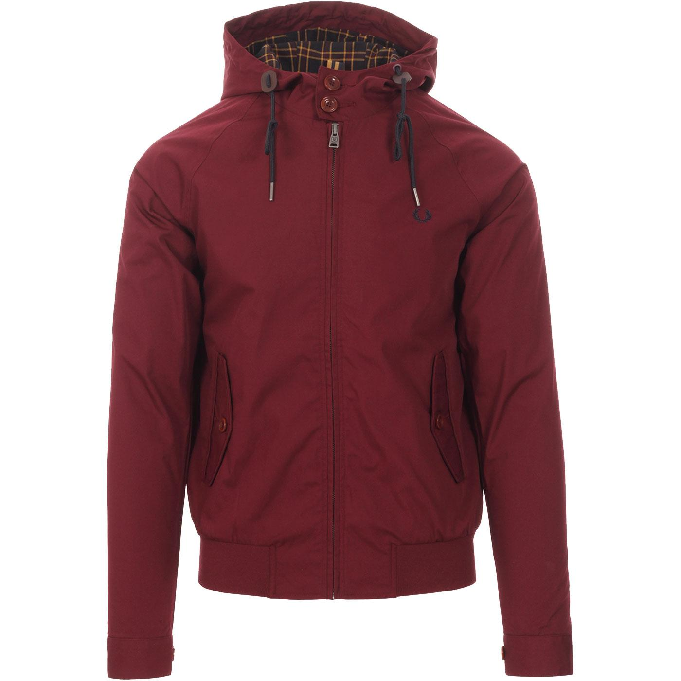 Woodford FRED PERRY Mod Hooded Harrington Jacket