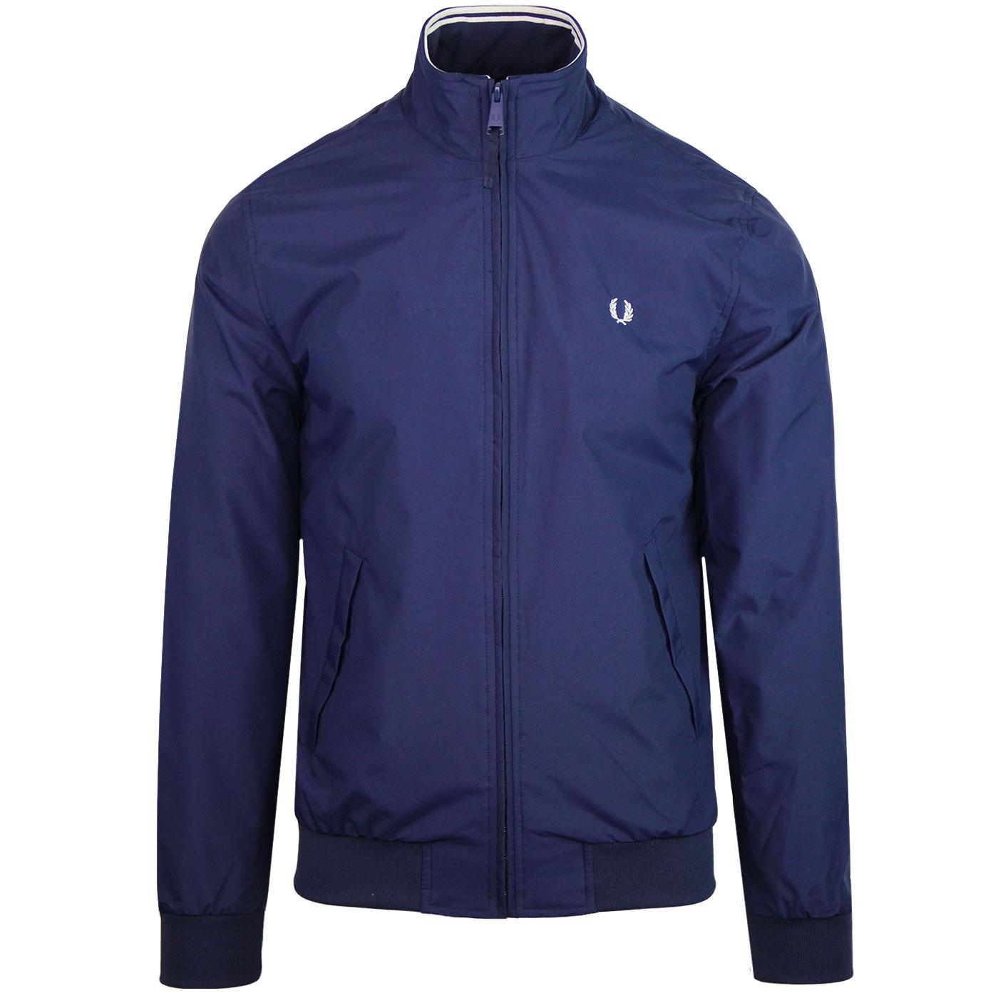 Brentham FRED PERRY Tipped Harrington Jacket (CB)