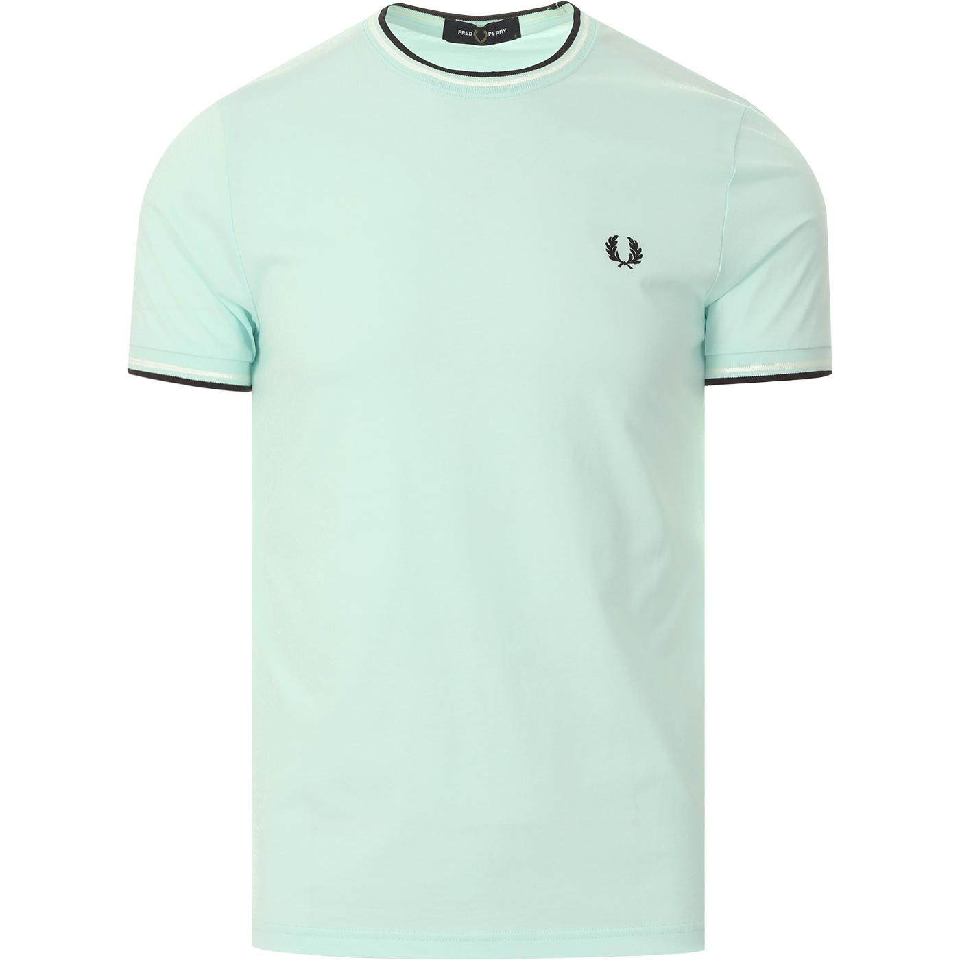 FRED PERRY Twin Tipped Crew Neck Tee (Brighton)