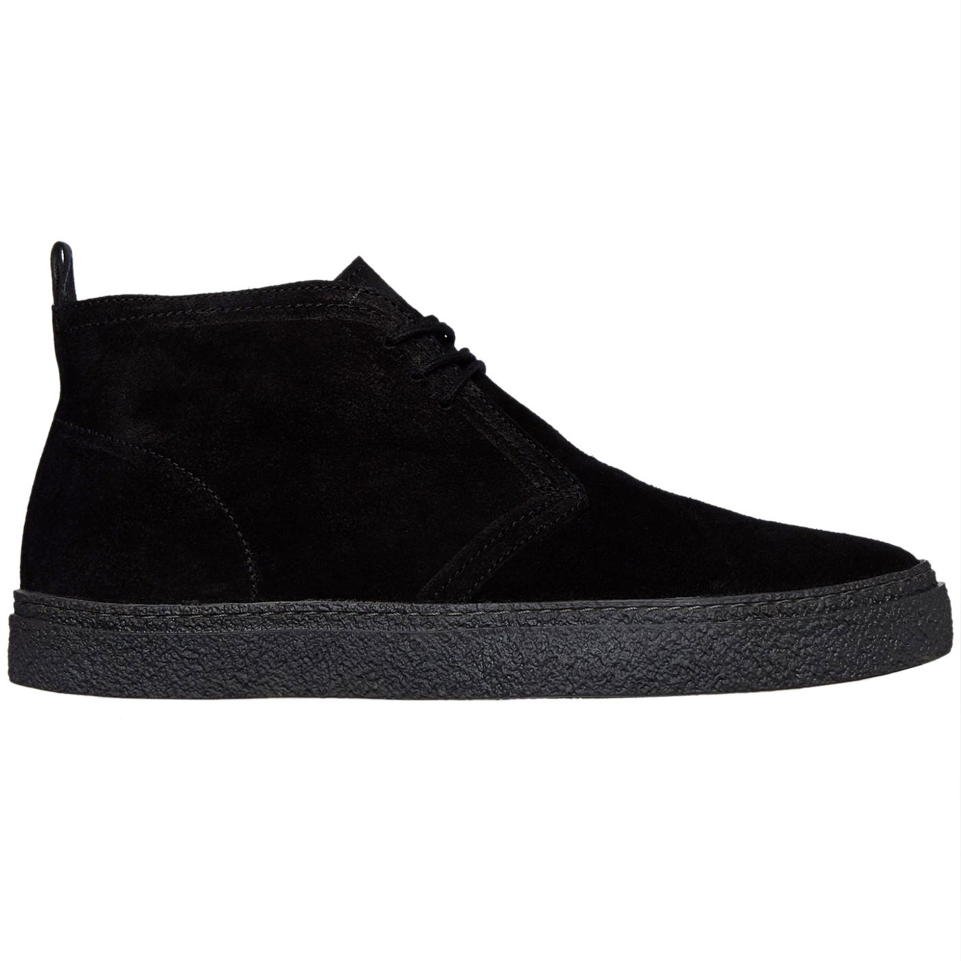 Hawley FRED PERRY Mod Crepe Desert Boots - Black