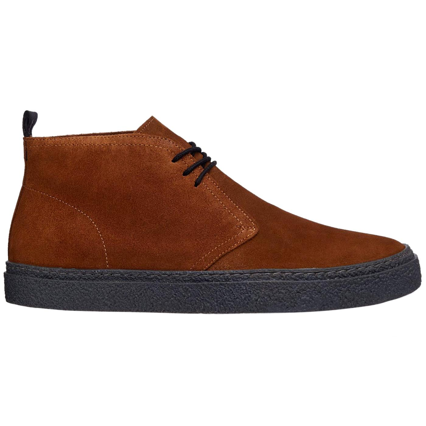 Hawley FRED PERRY Mod Crepe Desert Boots - Ginger
