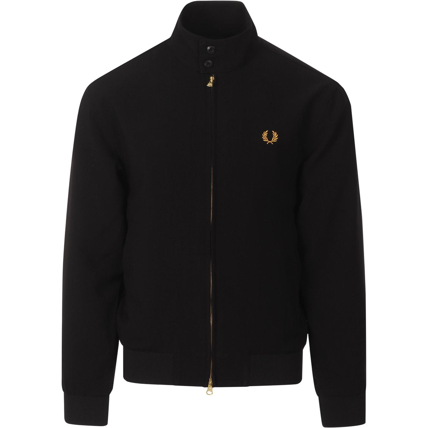 Sharp FRED PERRY Lightweight Harrington Jacket (B)