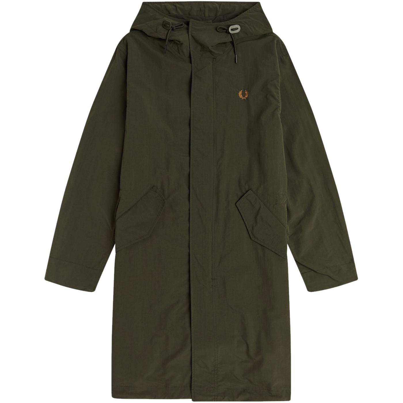 FRED PERRY Mod Shell Fishtail Parka Jacket (HG)