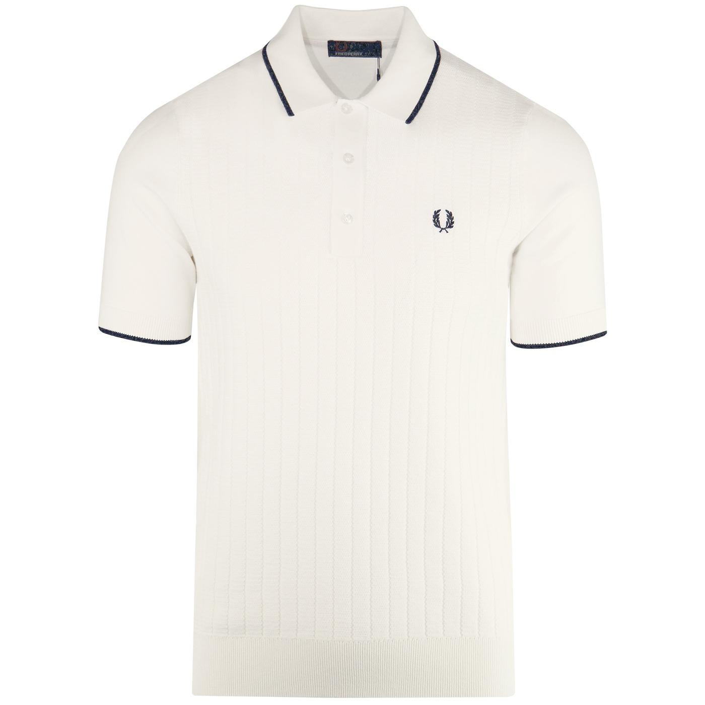 Vintage Fred Perry beige polo small size