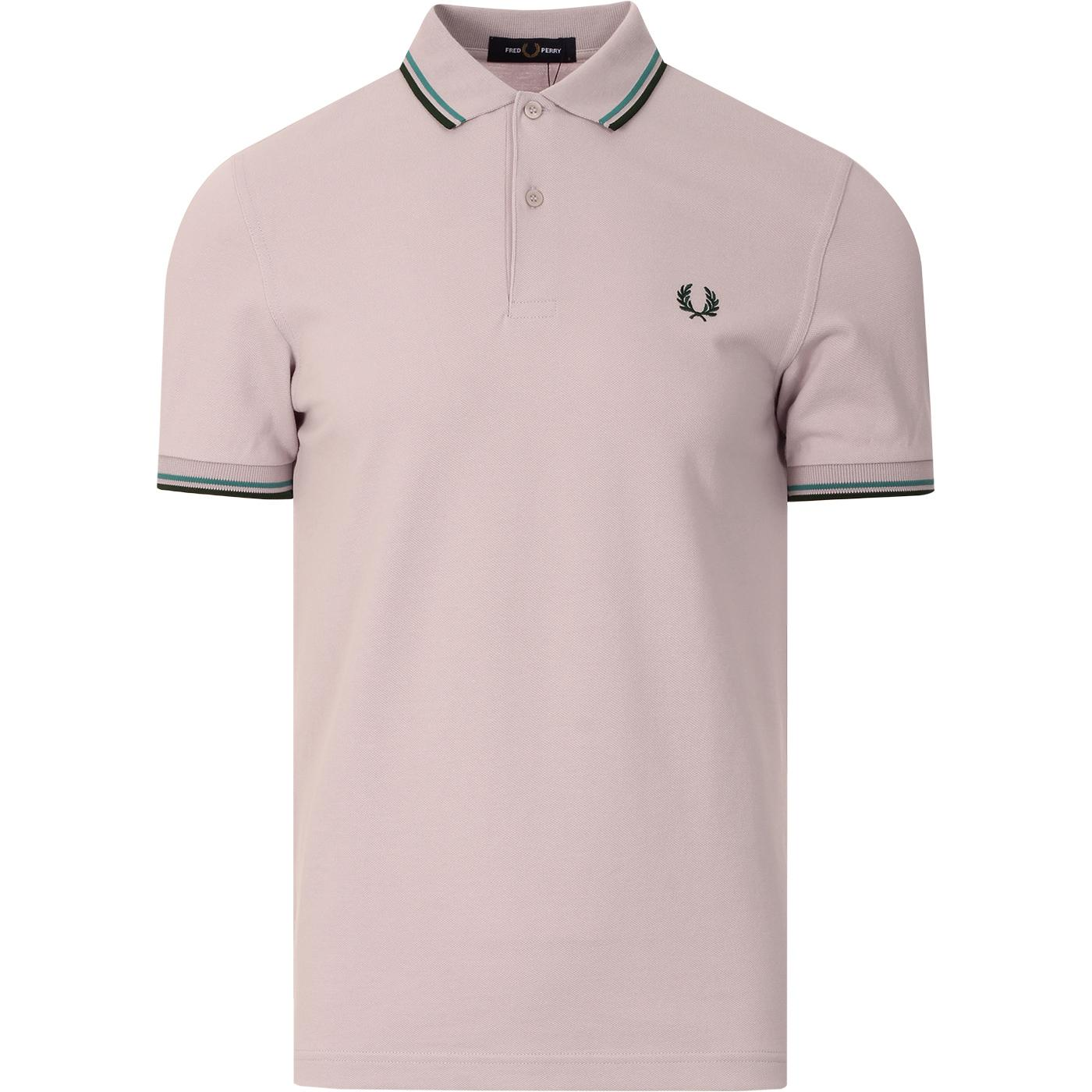 FRED PERRY M3600 Men's Twin Tipped Pique Polo RAIN