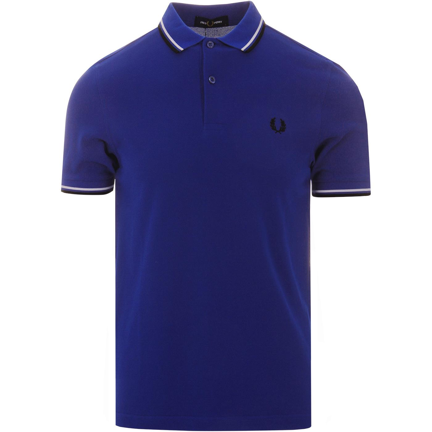 FRED PERRY M3600 Mod Twin Tipped Polo Top (Regal)