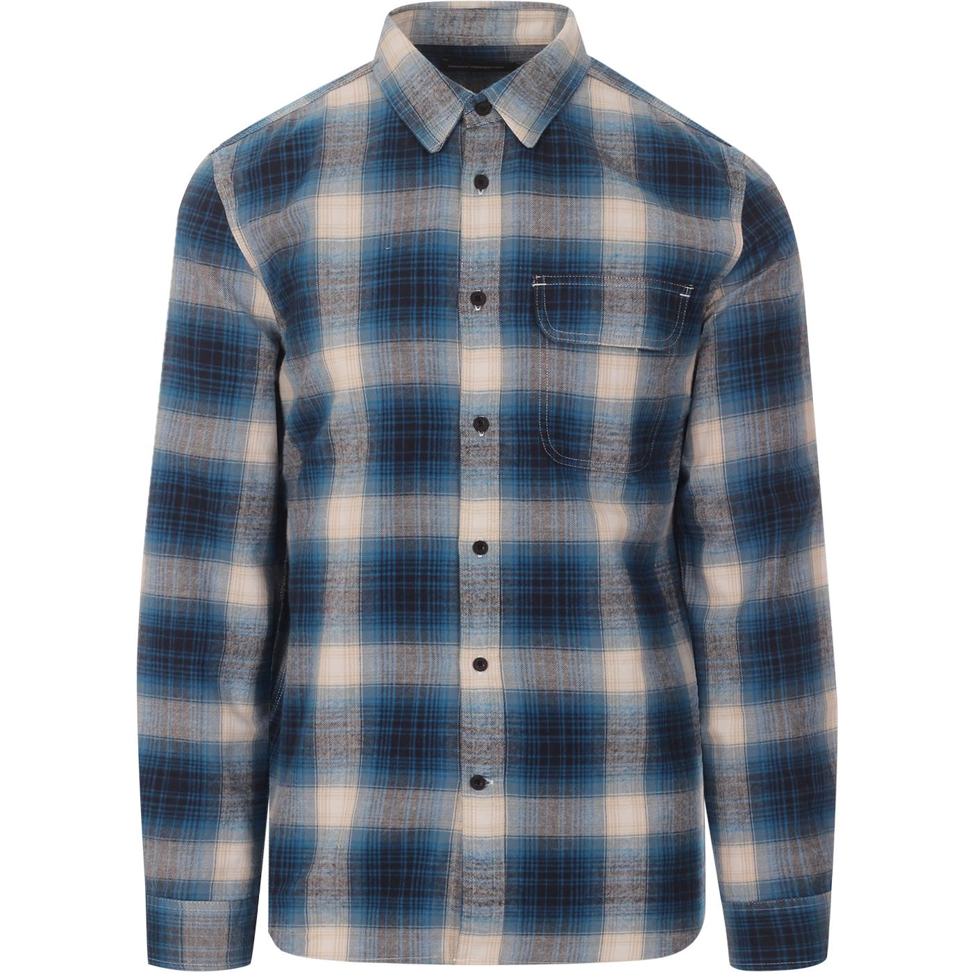 FRENCH CONNECTION Goldfinch Plaid Check Shirt