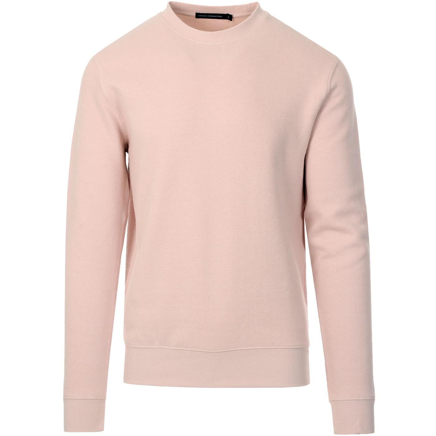 FRENCH CONNECTION Mens Flatback Rib Crew Sweater