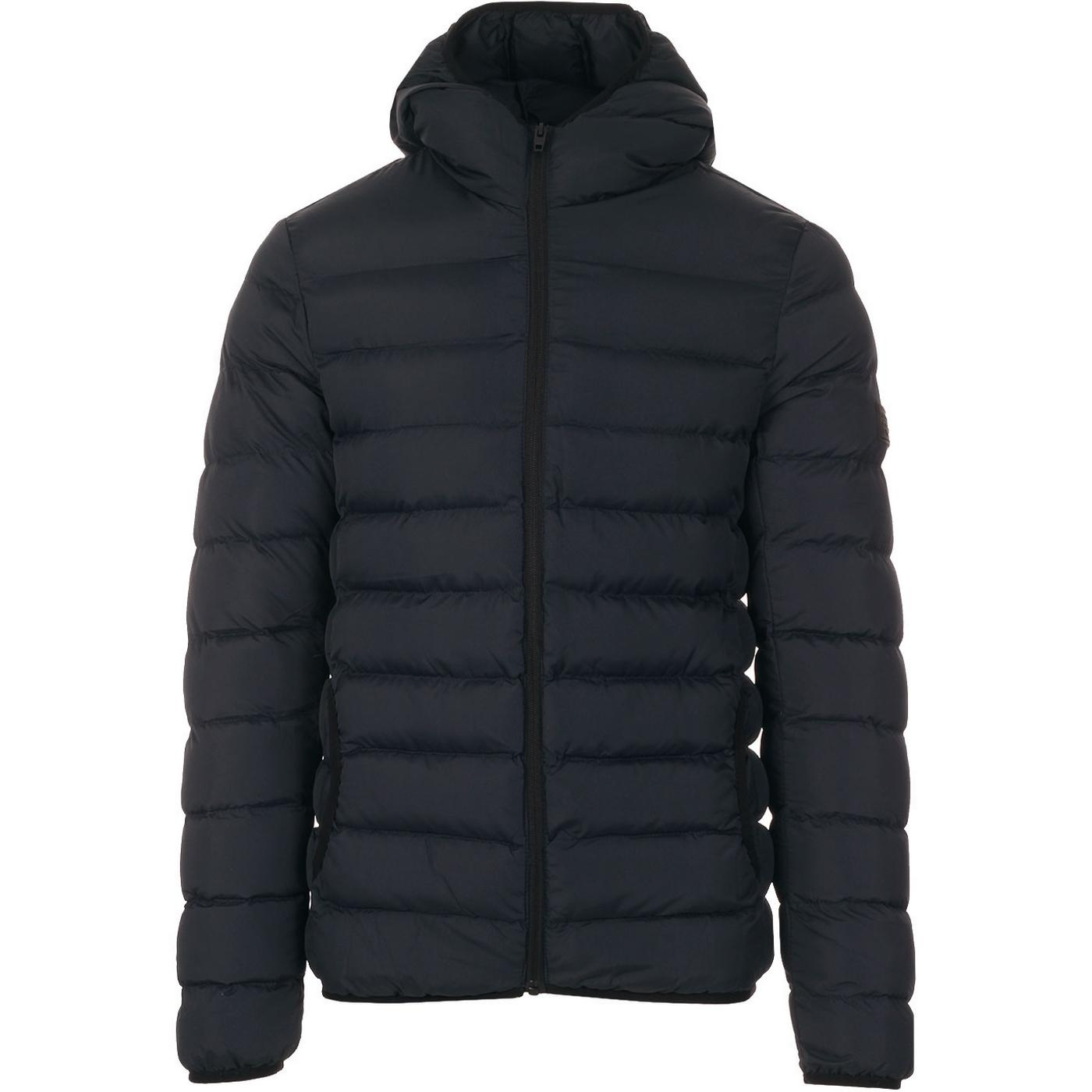 FRENCH CONNECTION Men's Hooded Padded Jacket M