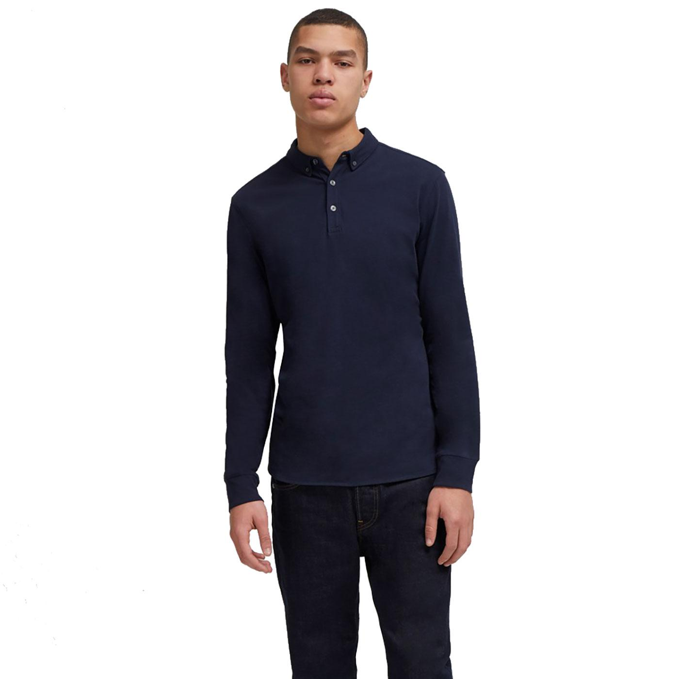 Brunswick FRENCH CONNECTION Long Sleeve Polo Shirt