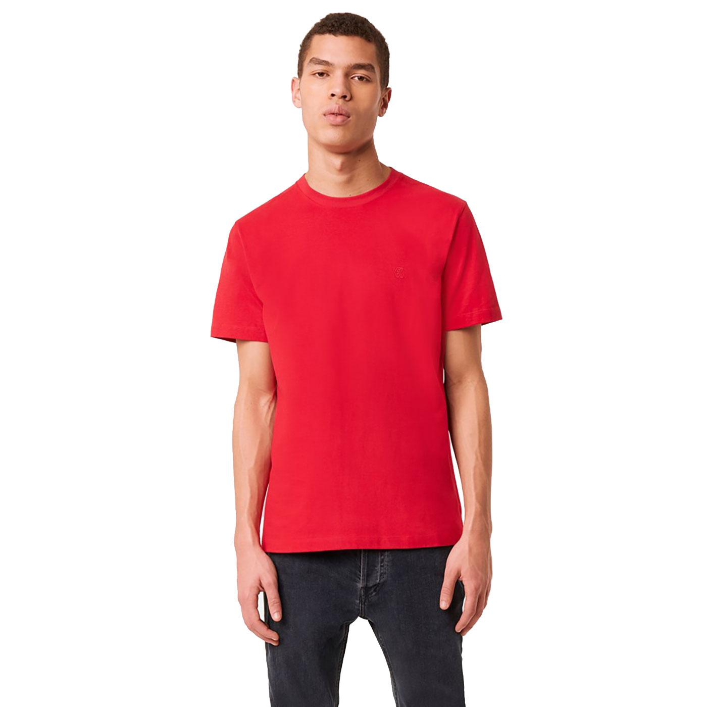 FRENCH CONNECTION Organic Cotton Crew Neck Tee R