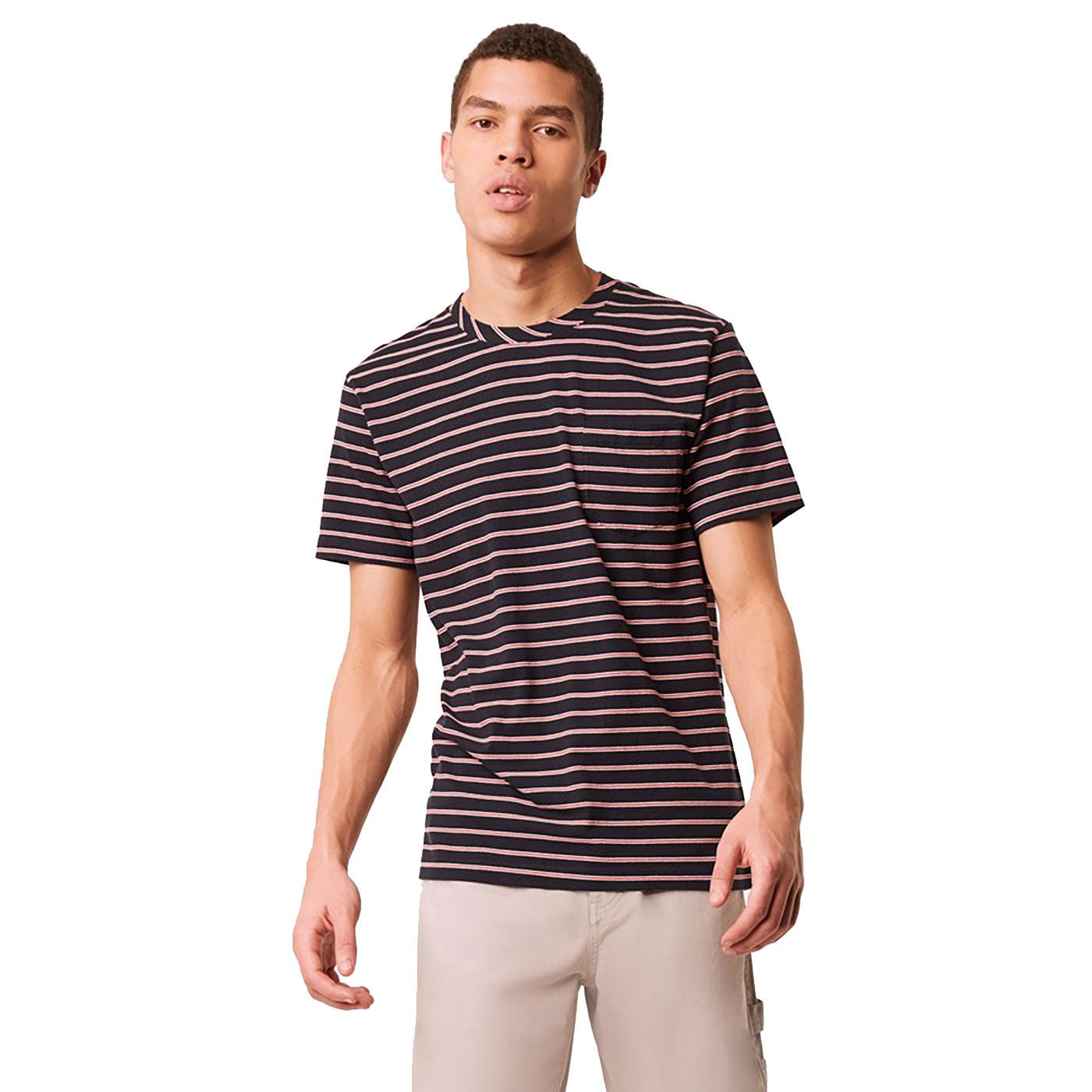 Kuma FRENCH CONNECTION Multi Stripe Pocket Tee UB