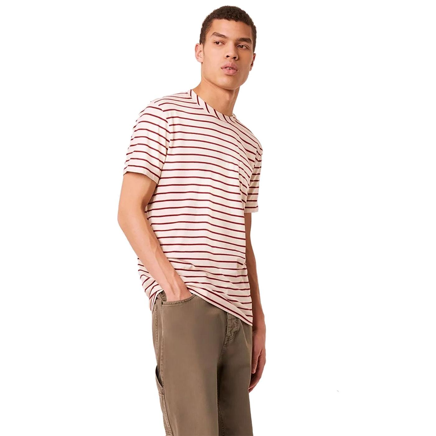 Kuma FRENCH CONNECTION Multi Stripe Pocket Tee