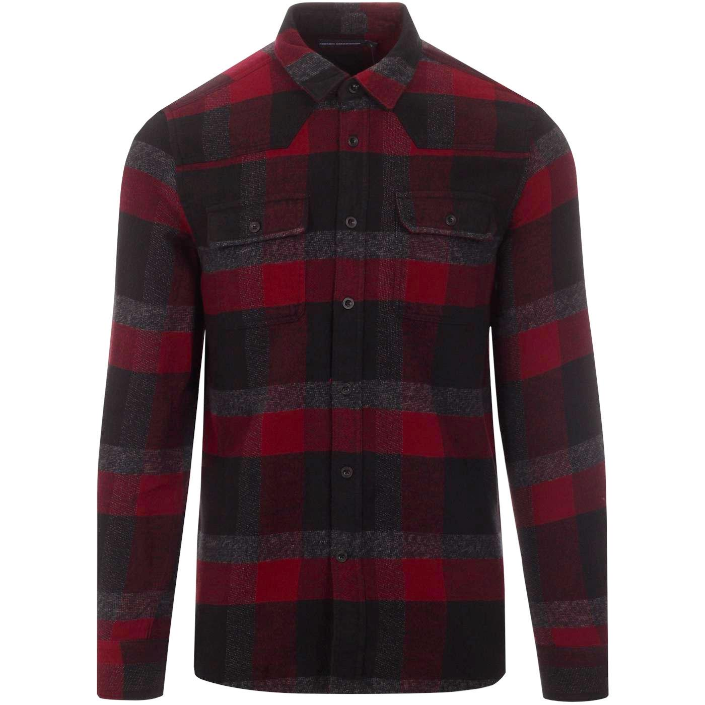 Dotten FRENCH CONNECTION Flannel Check Shirt (CR)