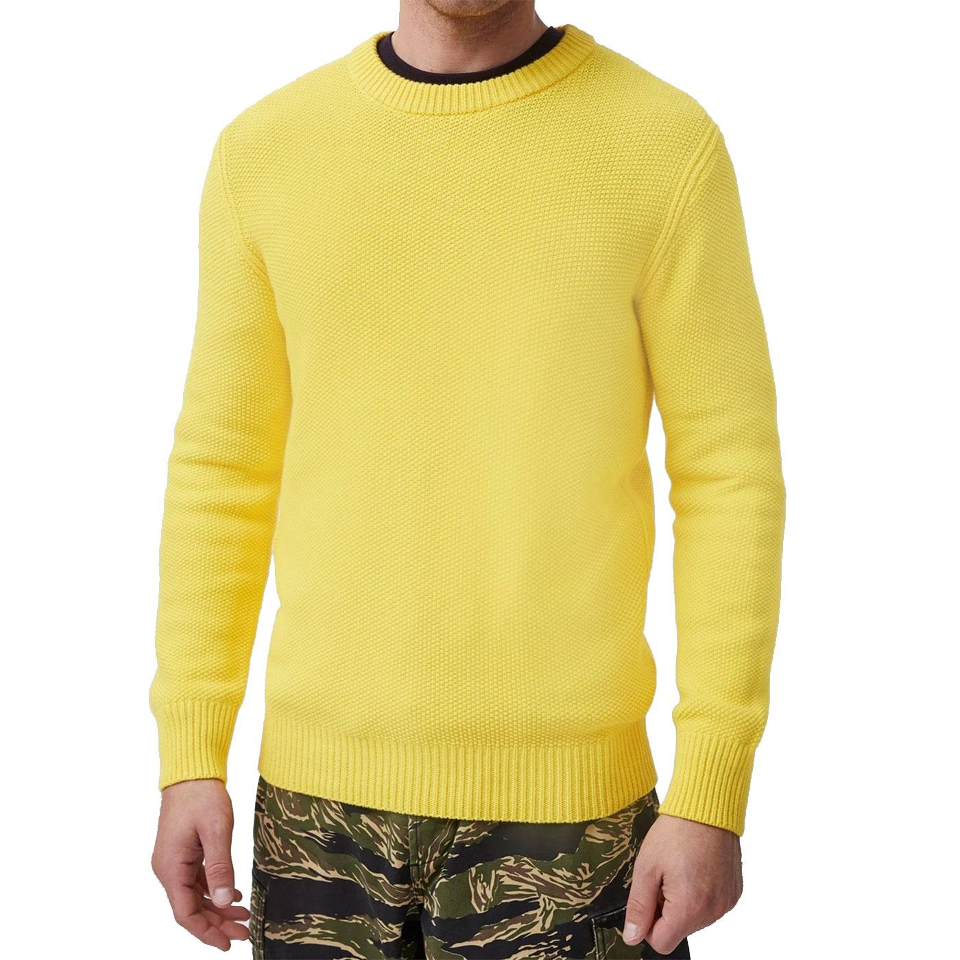 FRENCH CONNECTION Moss Stitch Chunky Knit Jumper