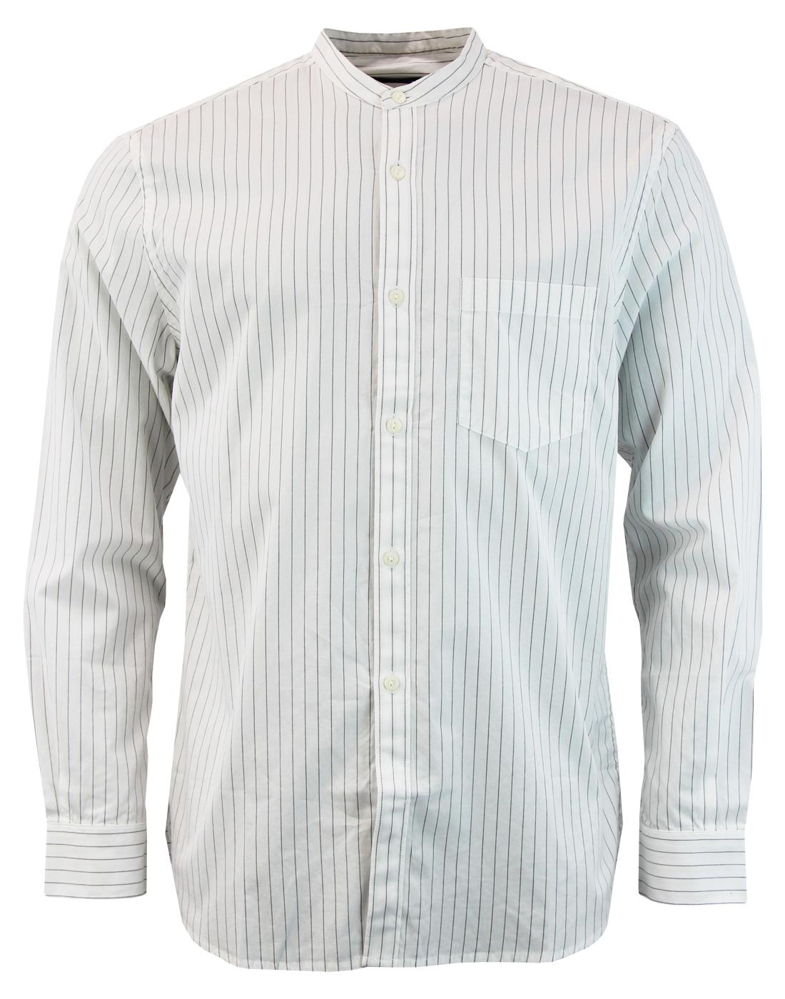 Sculpture FRENCH CONNECTION Stripe Grandad Shirt