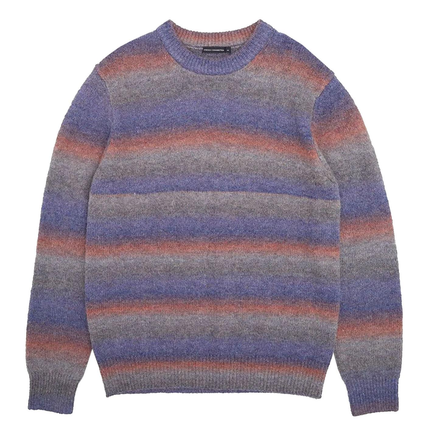 FRENCH CONNECTION Knitted Space Dye Stripe Jumper