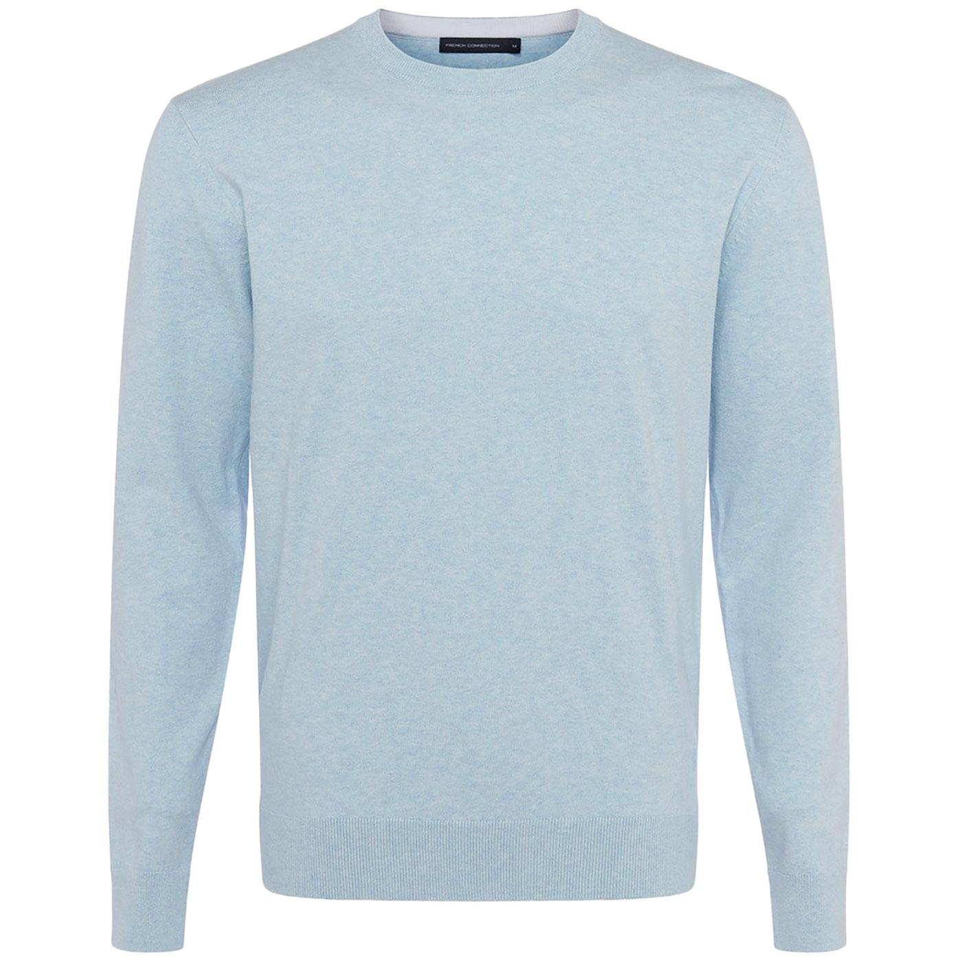 FRENCH CONNECTION Stretch Cotton Crew Jumper (AF)