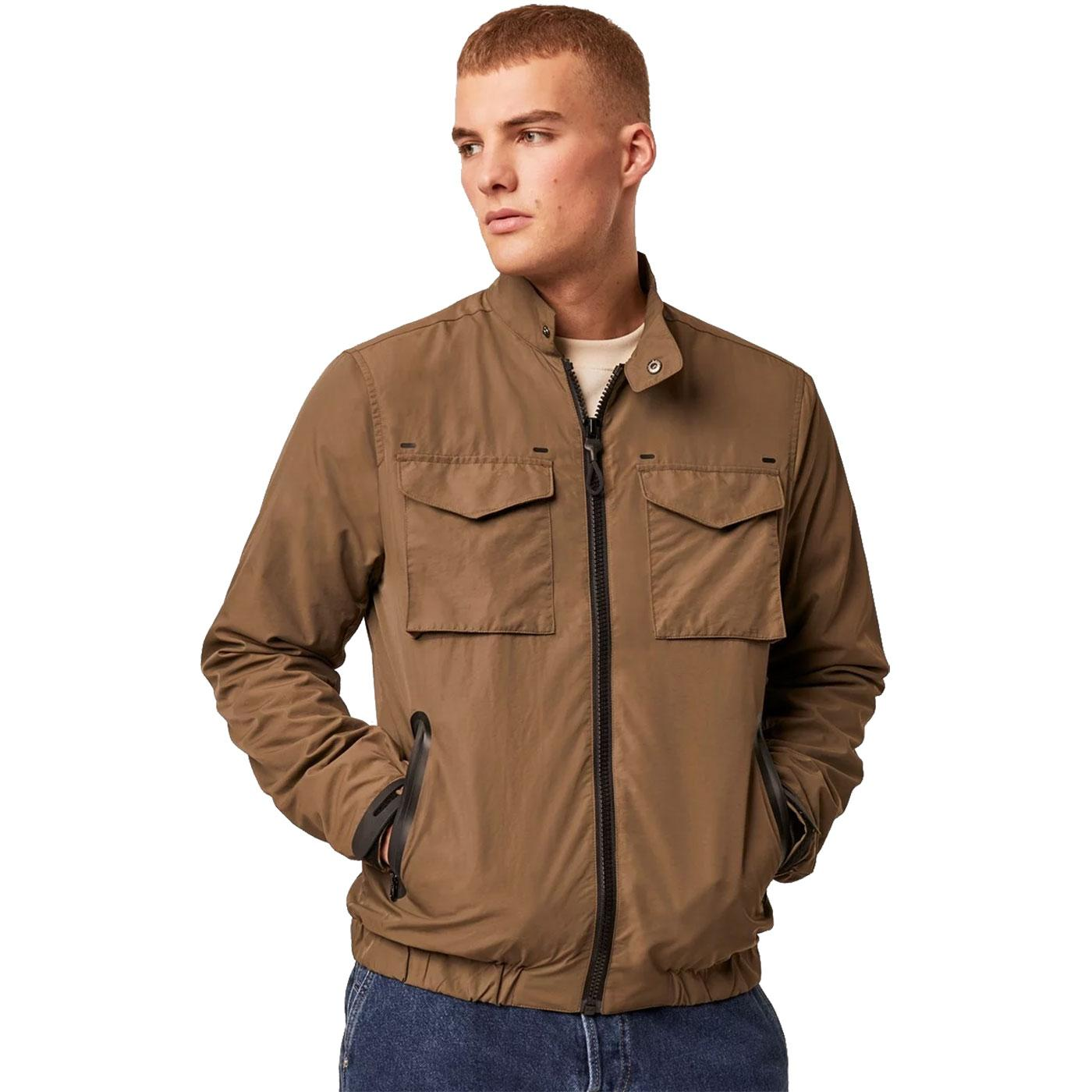 FRENCH CONNECTION Mens Technical Harrington Jacket