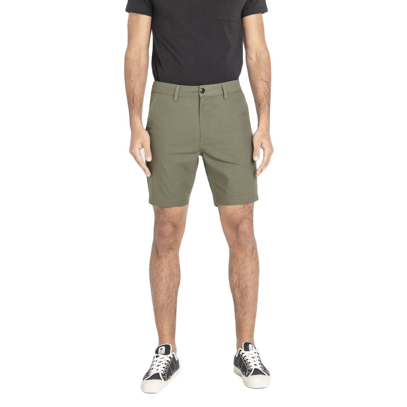 LEE Men's Retro Slim Chino Shorts (Ivy Green)