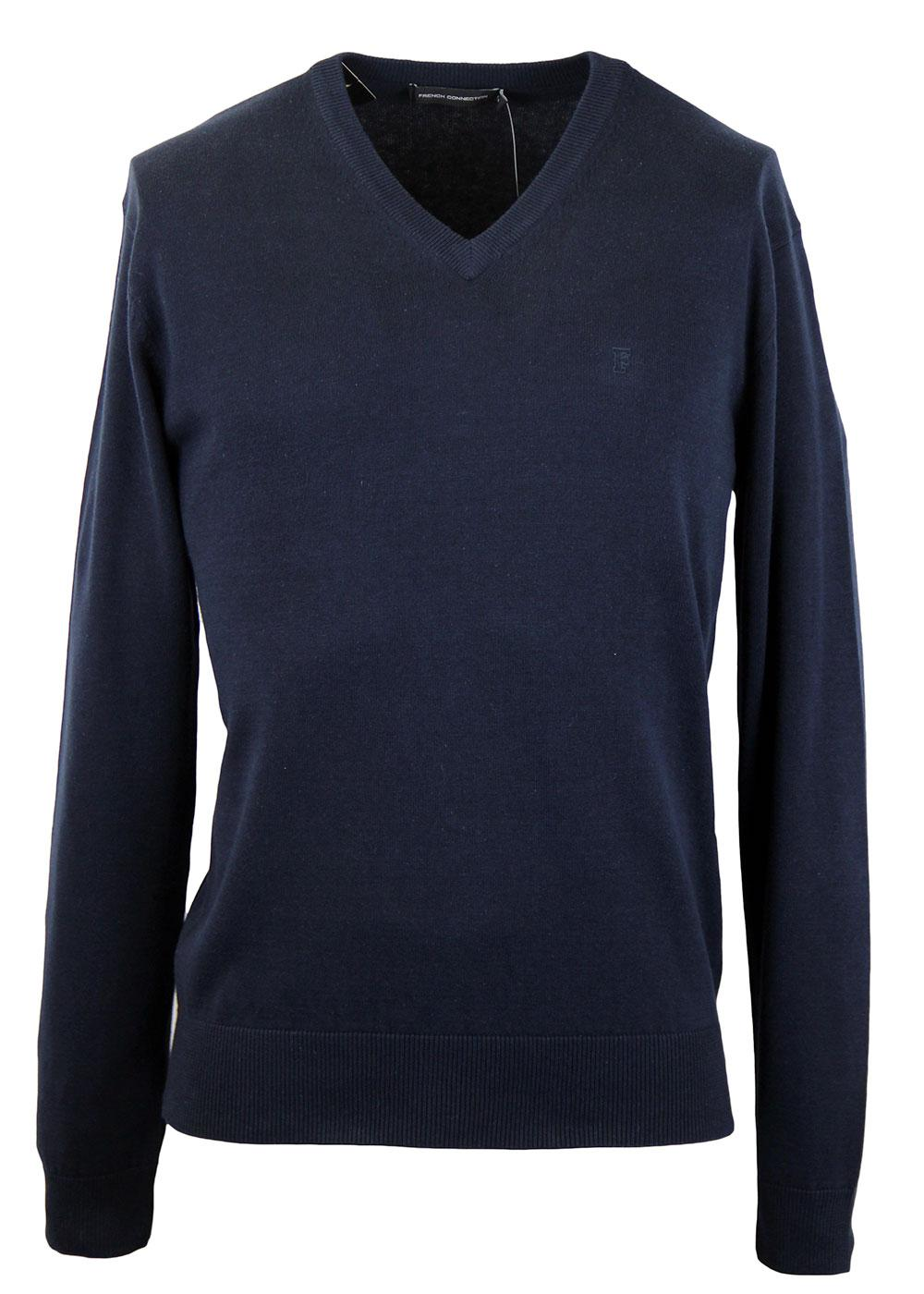 FRENCH CONNECTION Auderly Retro Mod V-Neck Jumper