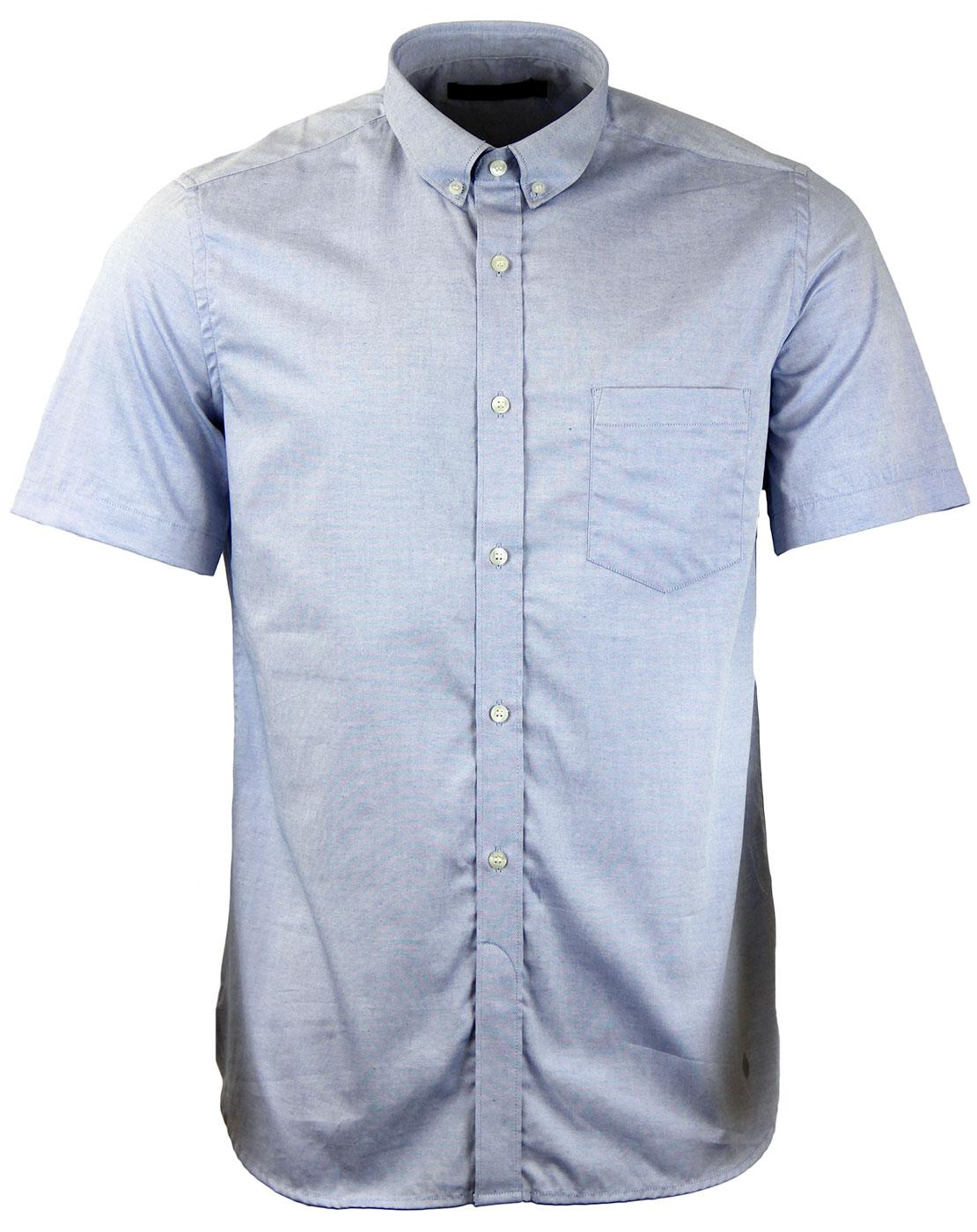 French connection retro mod s s colourful oxford shirt for French blue oxford shirt