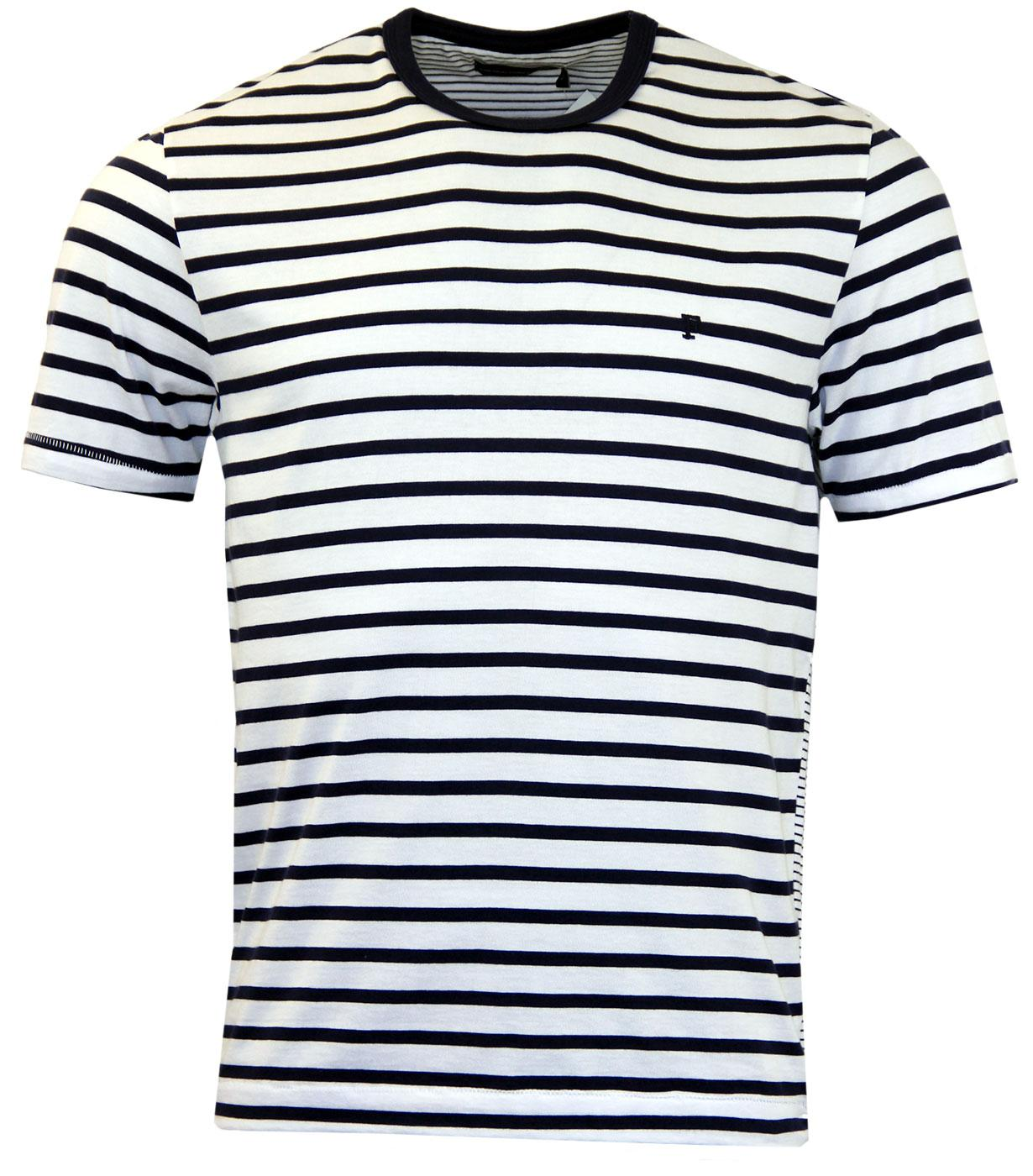 Langlois FRENCH CONNECTION Retro Mod Stripe Tee