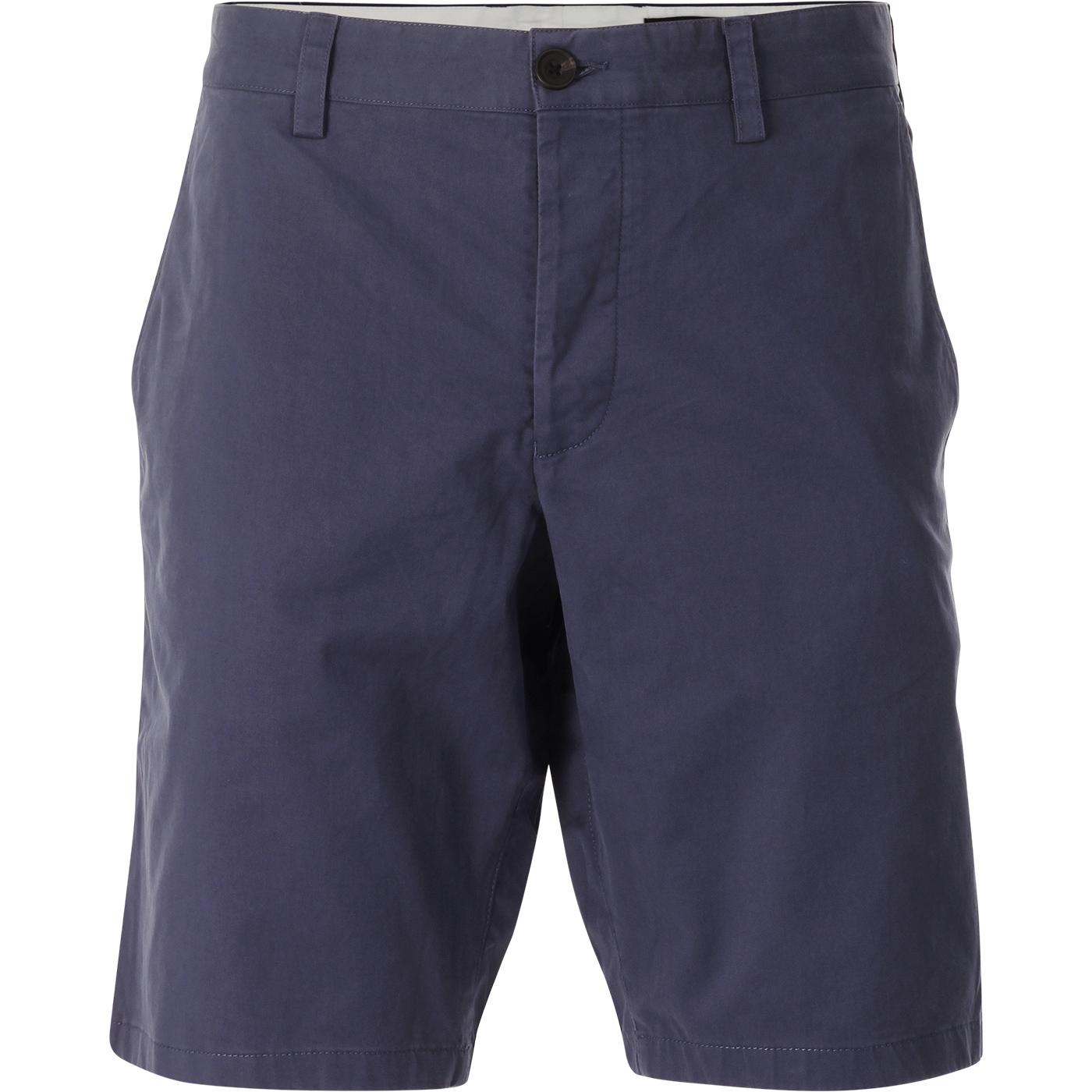 FRENCH CONNECTION Machine Stretch Shorts (Blue)