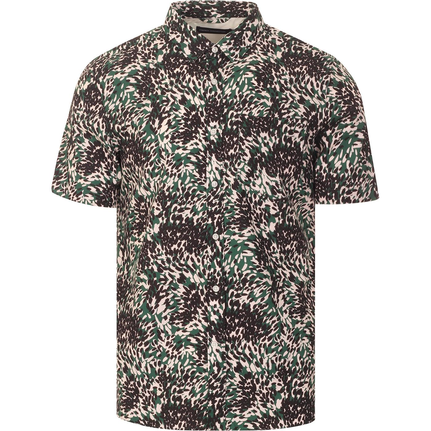 Vienne FRENCH CONNECTION Spot Camo Peached Shirt