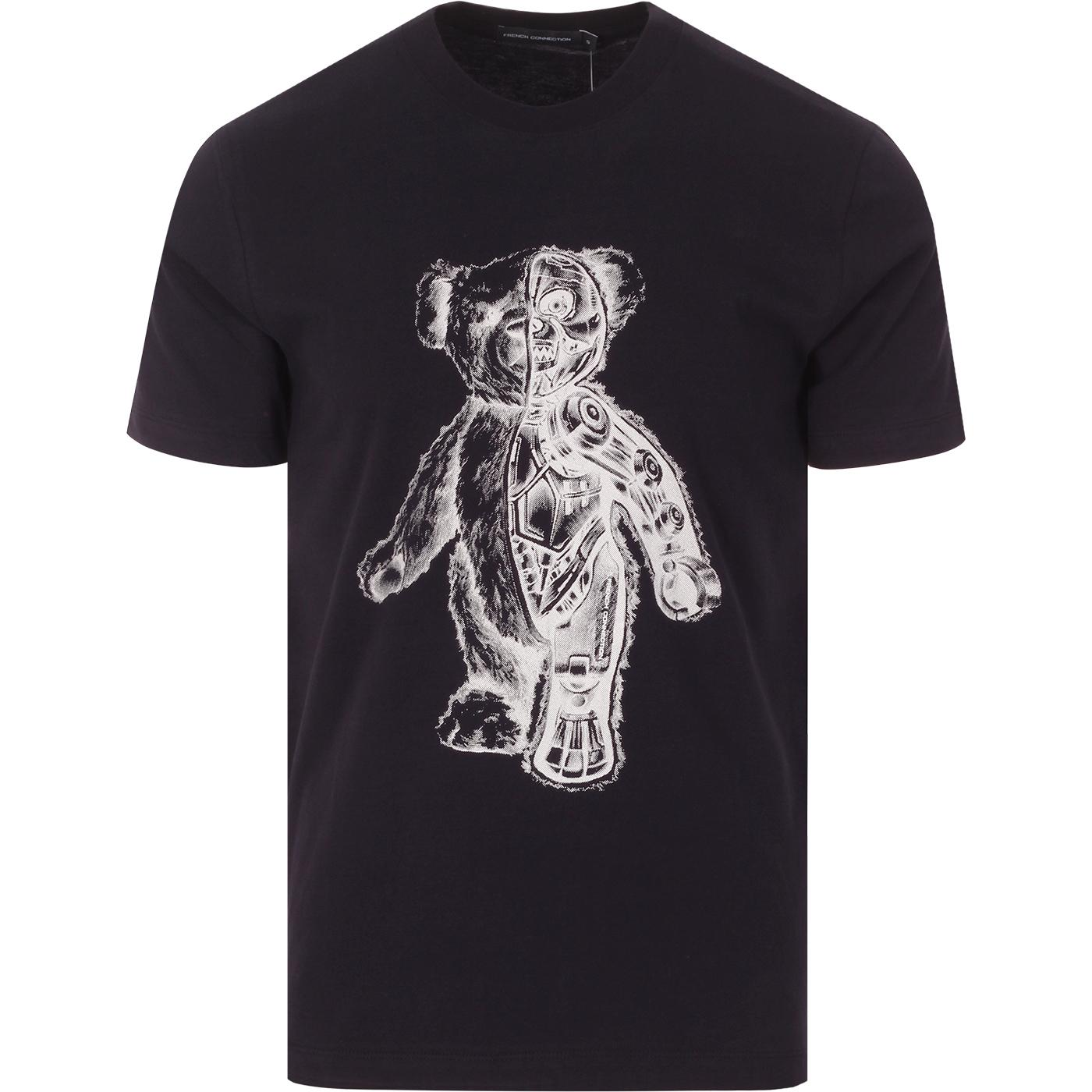 FRENCH CONNECTION Teddy Bear Skeleton Tee
