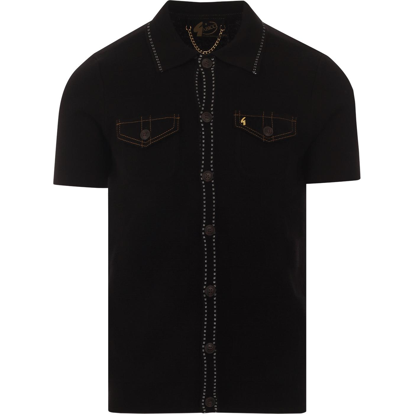 Buckler GABICCI VINTAGE Ltd Edition Polo Top BLACK