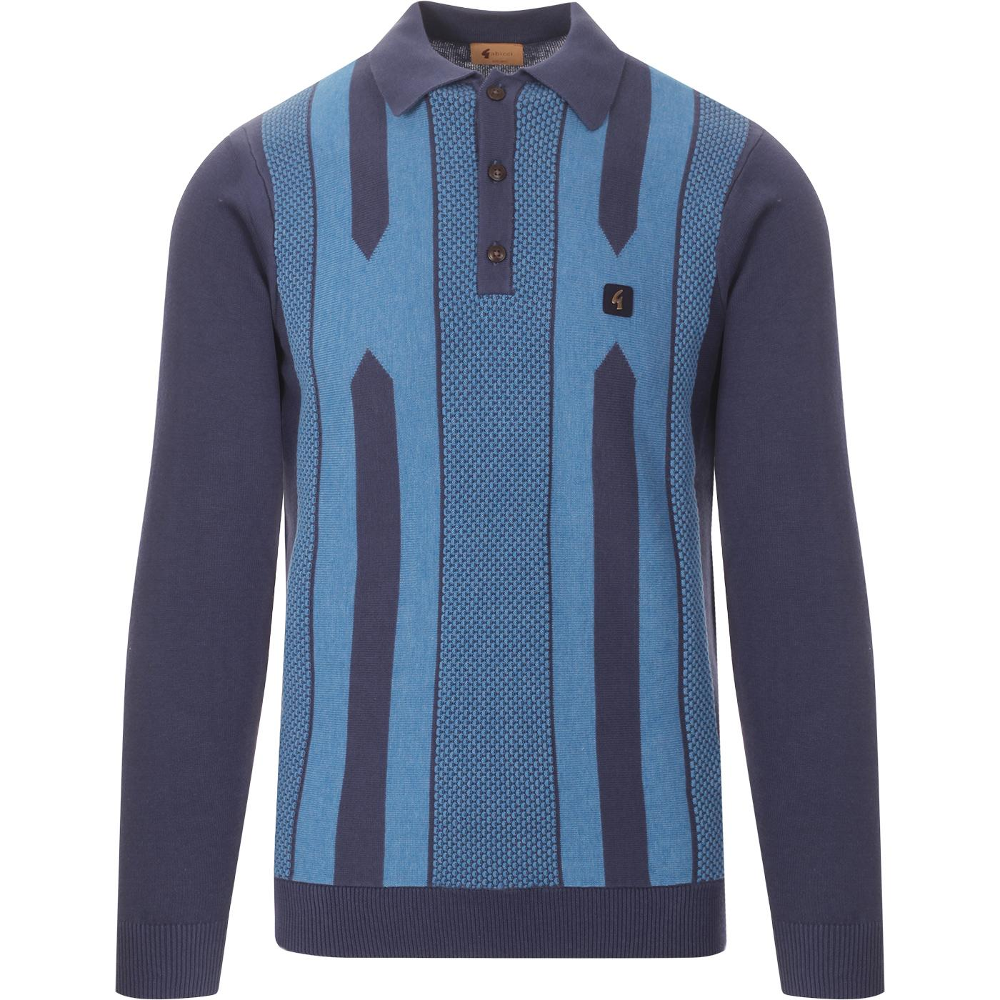 Cooper GABICCI VINTAGE Retro 80s Knitted Polo T