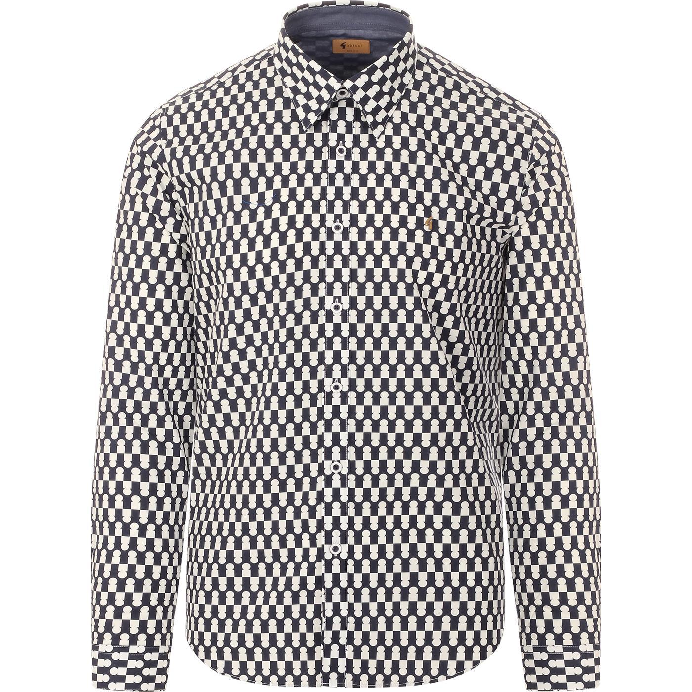 Wayne GABICCI VINTAGE Mod Button Under Shirt