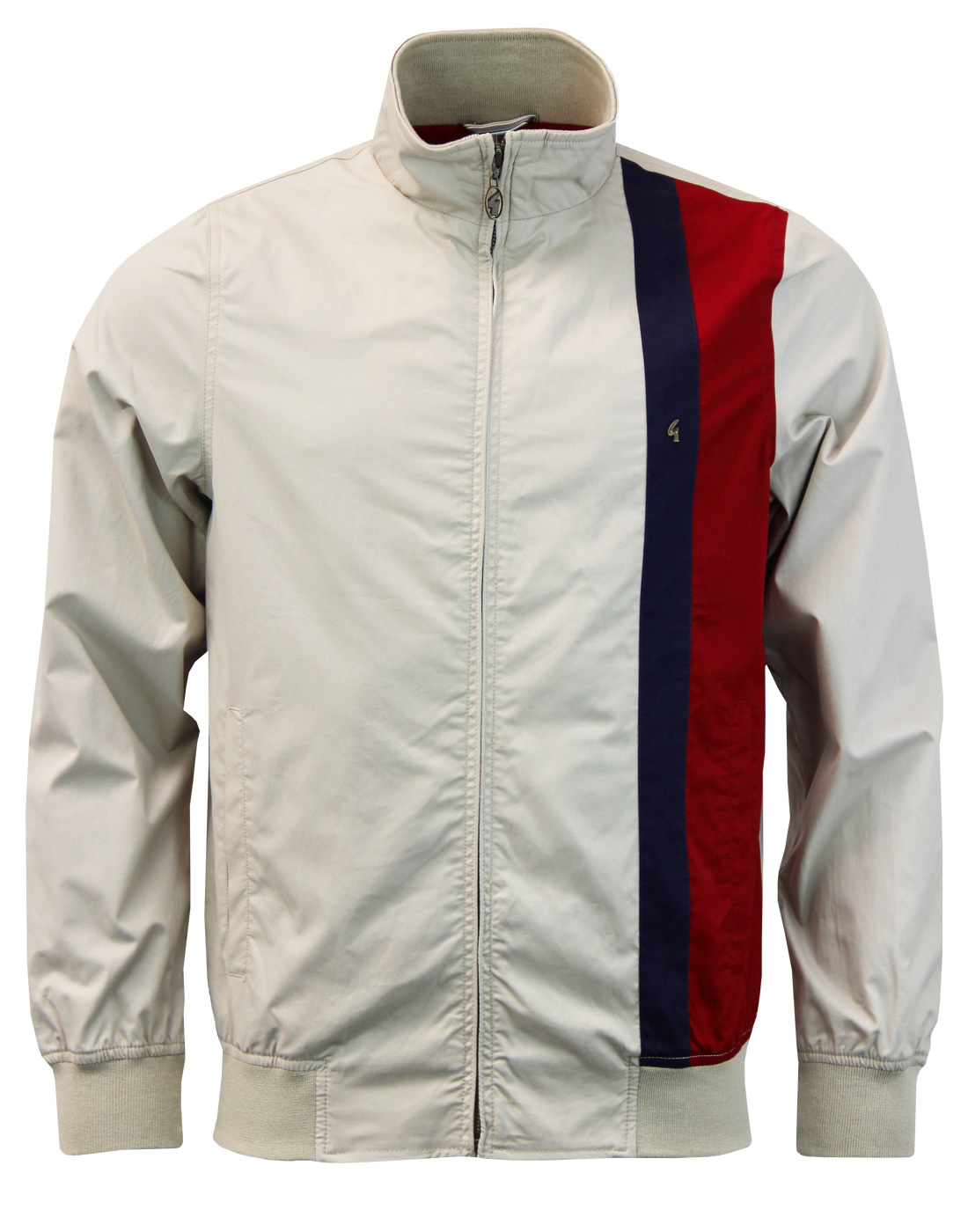 gabicci vintage samson retro mod racing stripe harrington