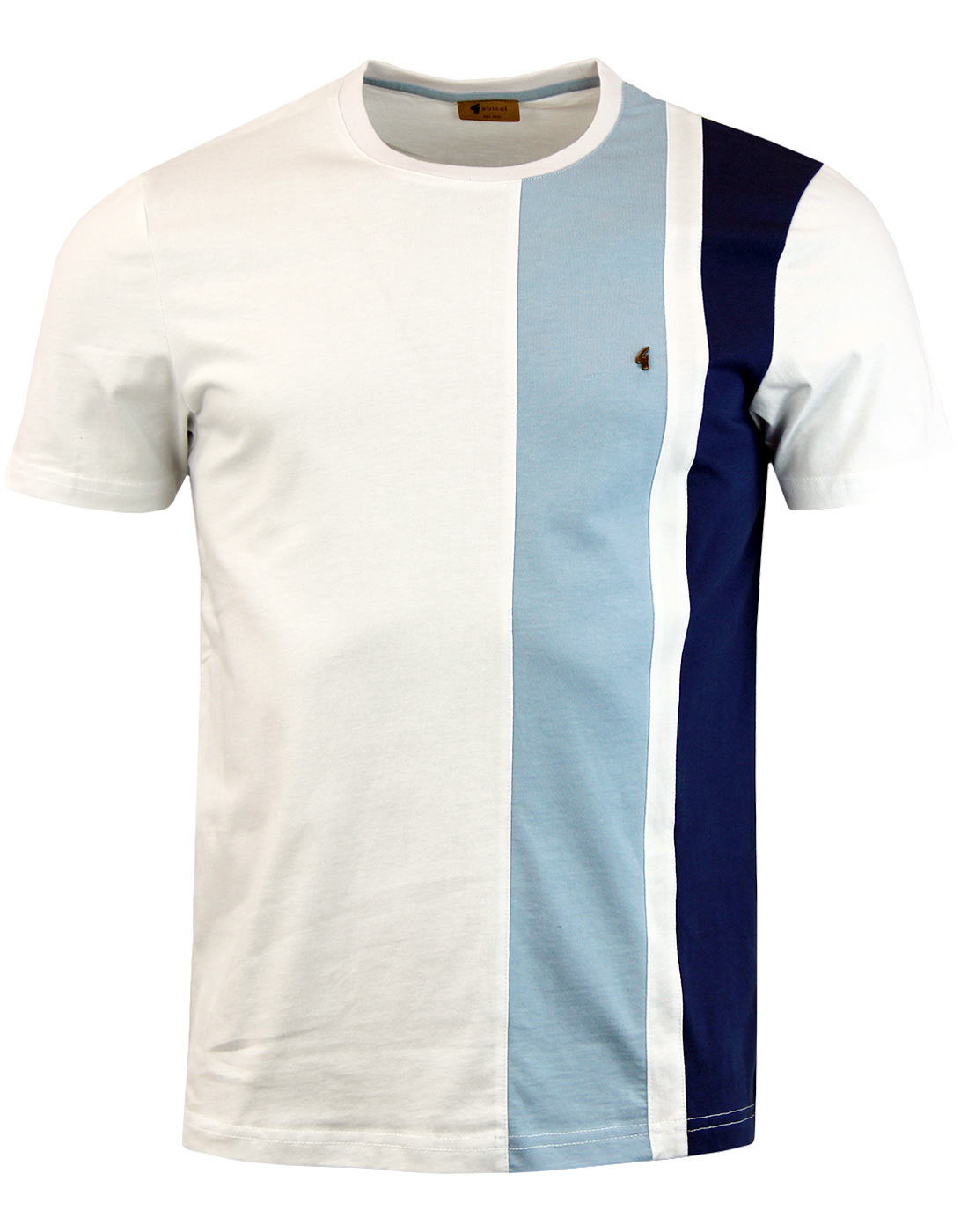 Kingston GABICCI VINTAGE Mod Panel Side Stripe Tee