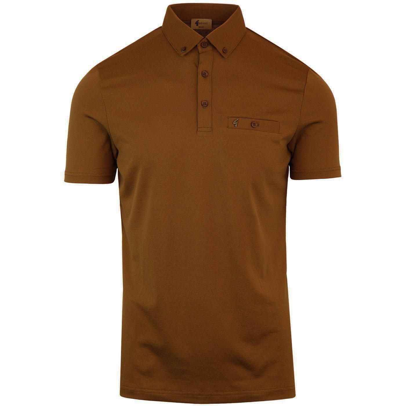 Ladro GABICCI VINTAGE Classic Polo Shirt HONEYCOMB