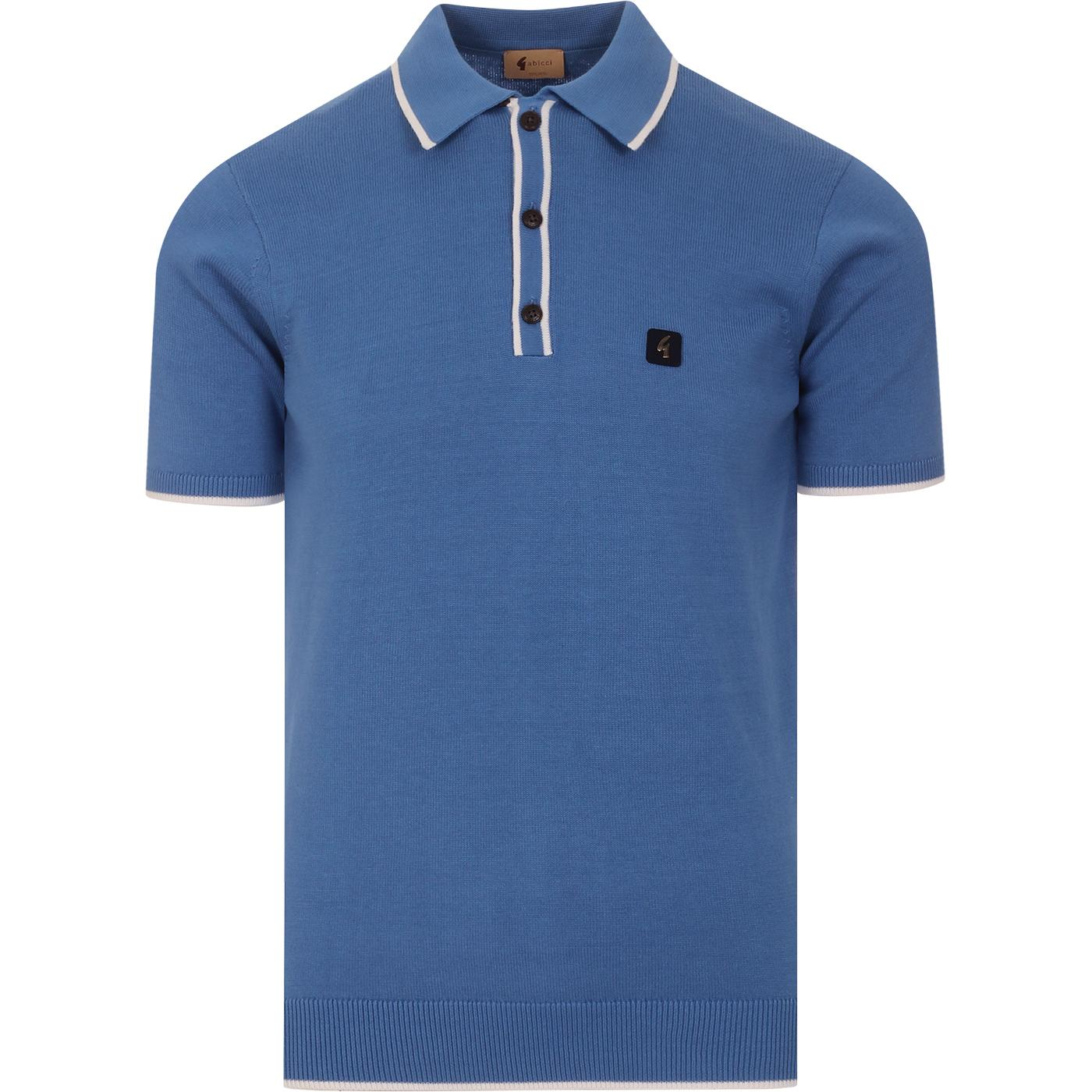 Lineker GABICCI VINTAGE Tipped Knit Polo CAROLINA