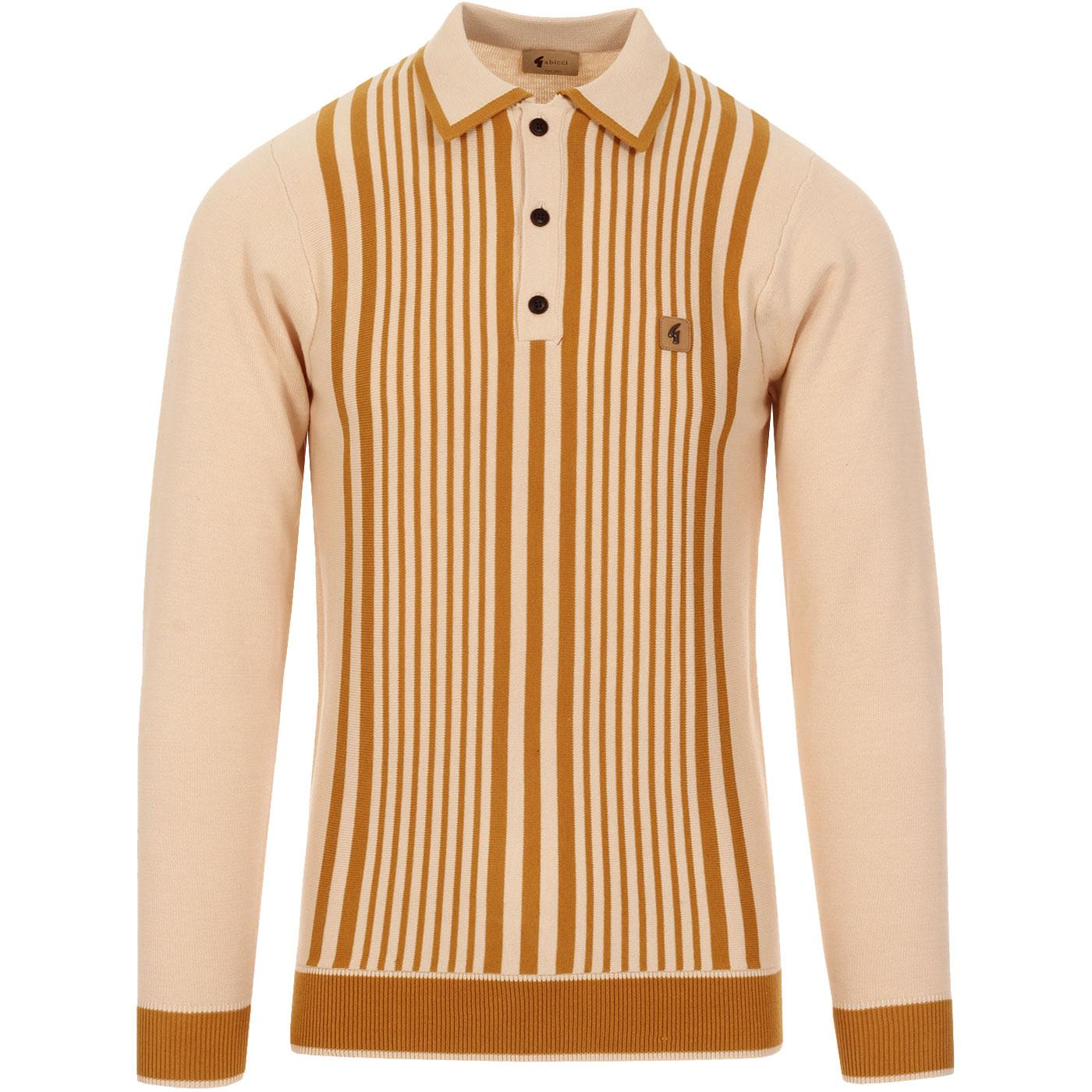 Strand GABICCI VINTAGE Mod Stripe Knitted Polo