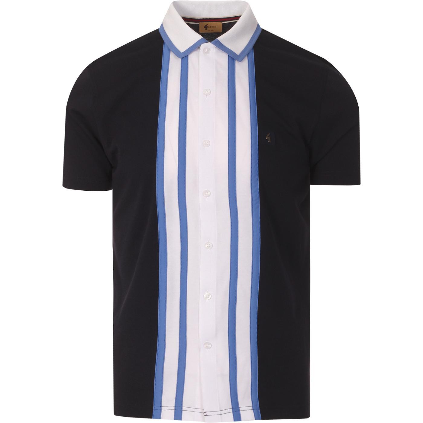 Statham GABICCI VINTAGE Retro Mod Jersey Shirt N
