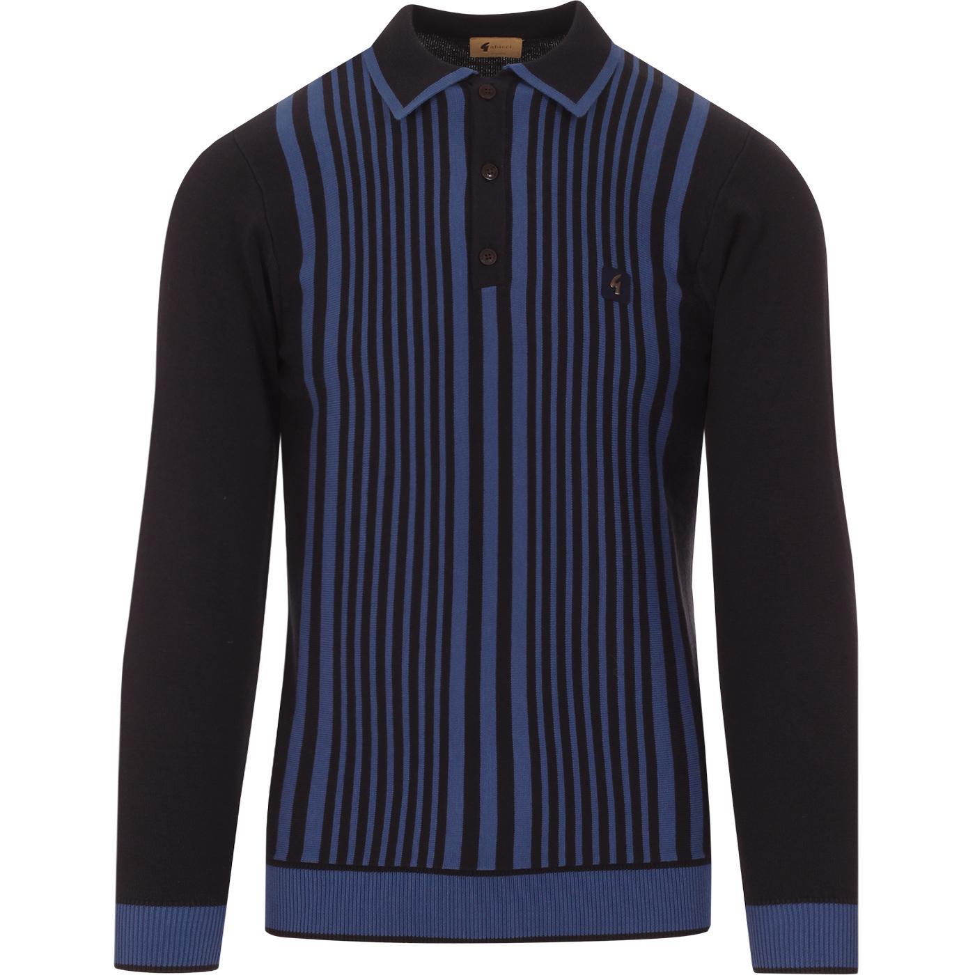 Strand GABICCI VINTAGE Mod Stripe Knitted Polo (N)