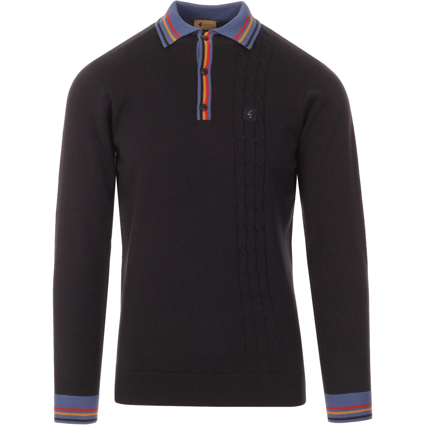 Turney GABICCI VINTAGE Bold Tipping Knitted Polo N