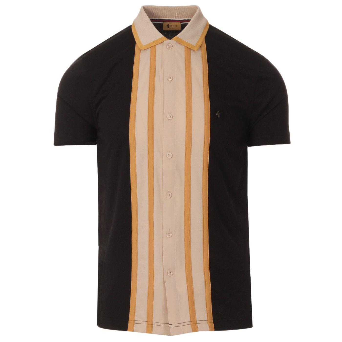 Statham GABICCI VINTAGE Retro Mod Jersey Shirt B